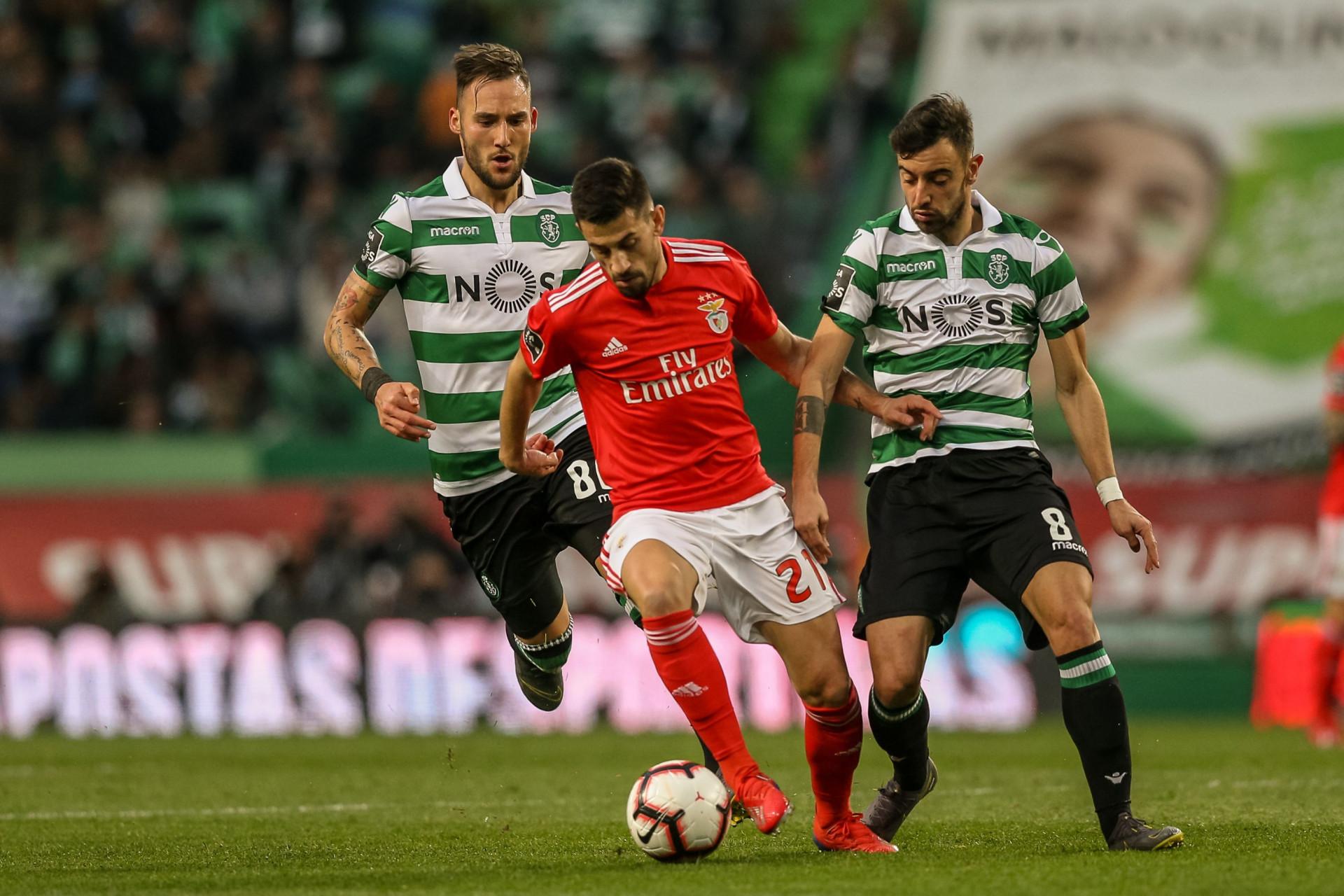 Sporting Benfica As Imagens Que N U00e3o Passaram Na Televis U00e3o