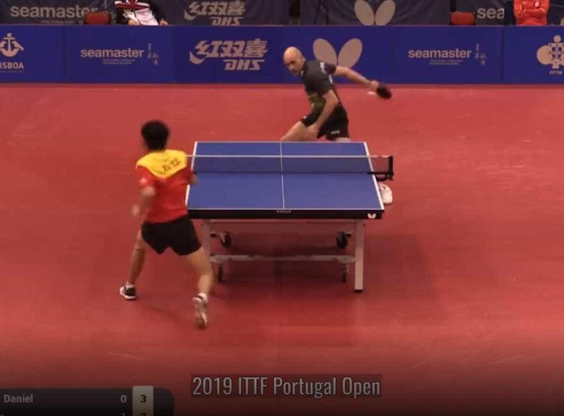 Portugal foi palco de um dos melhores pontos de sempre no ténis de mesa