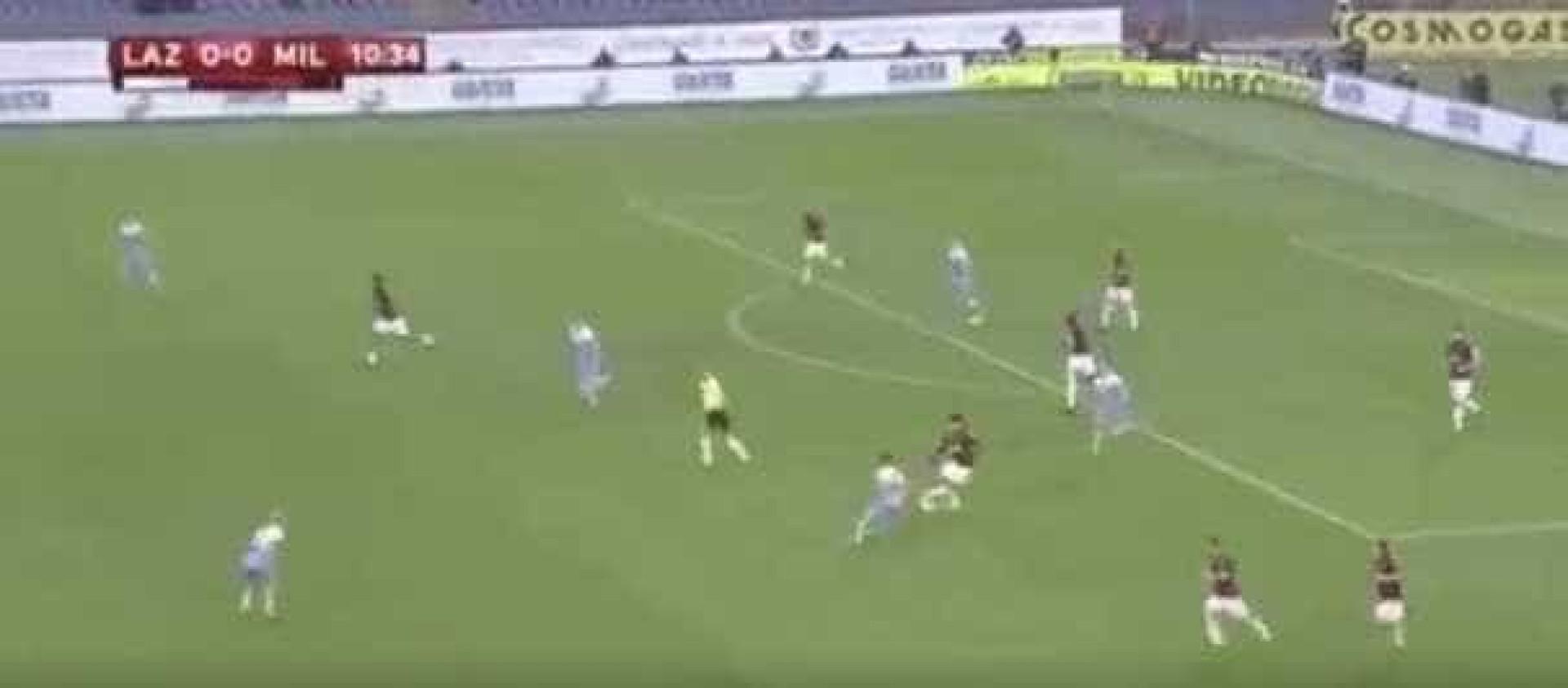 A finta de Lucas Paquetá que deixou os adeptos do AC Milan encantados
