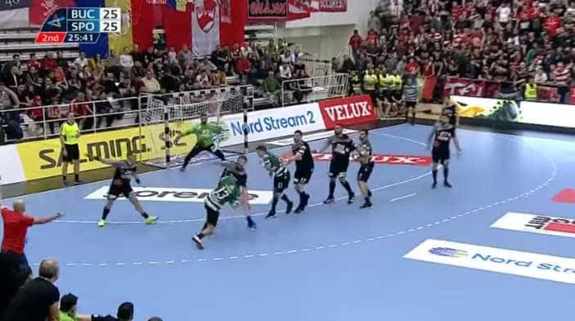 Golo do Sporting eleito o melhor da 14.ª ronda da Champions de andebol
