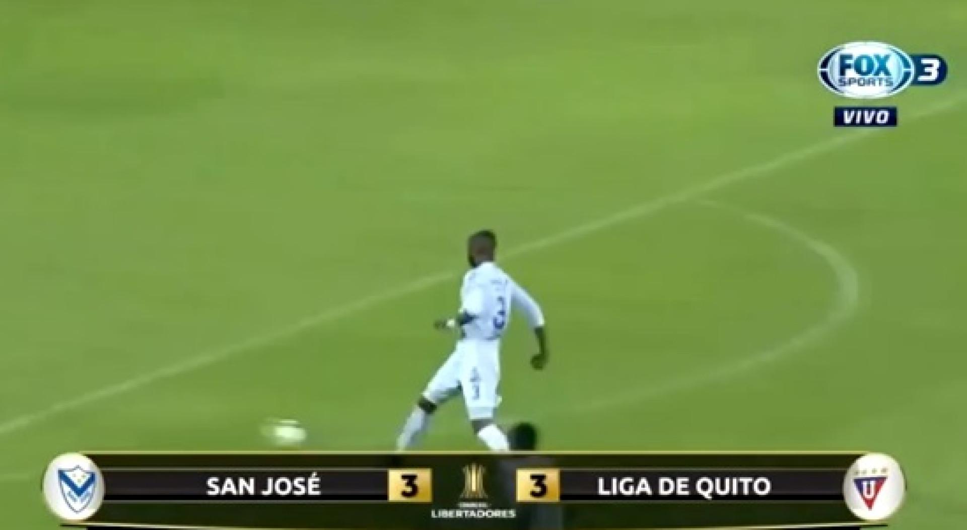 Jogo da Libertadores marcado por hat-trick de... autogolos