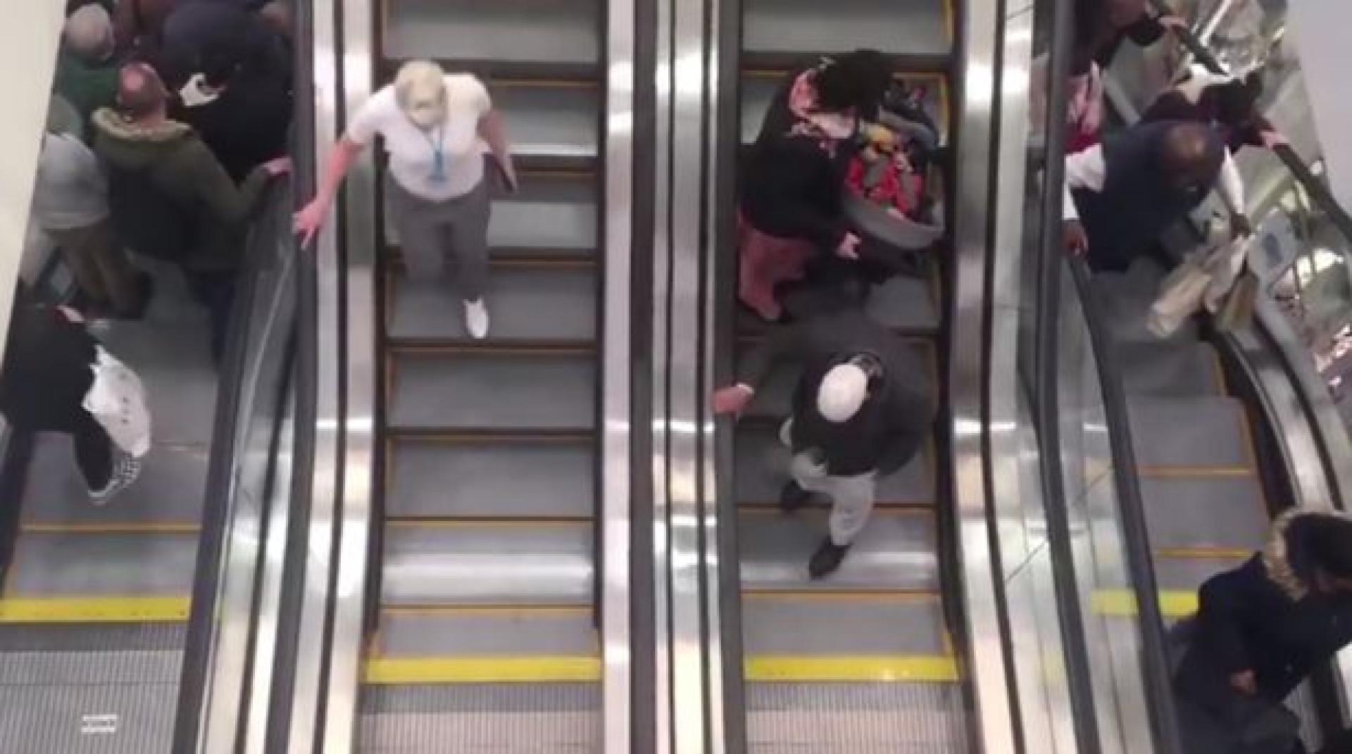 Maior Primark do mundo abriu sem luz e com escadas rolantes paradas