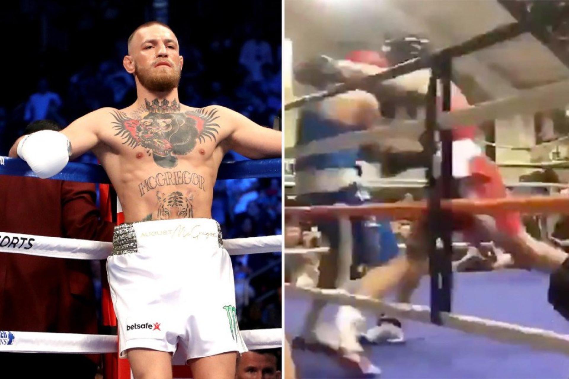 McGregor voltou aos ringues... amadores. E há imagens
