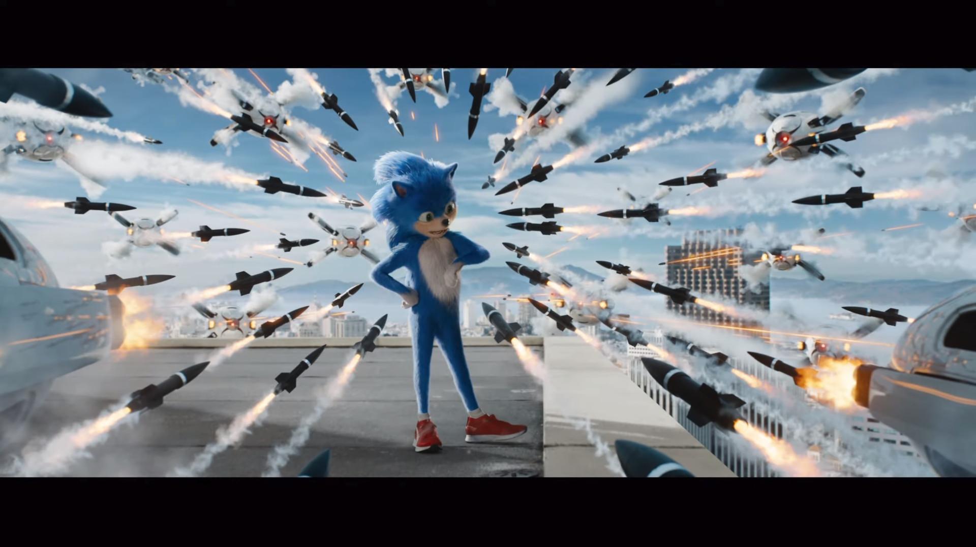 Filme baseado em 'Sonic' recebeu o primeiro trailer