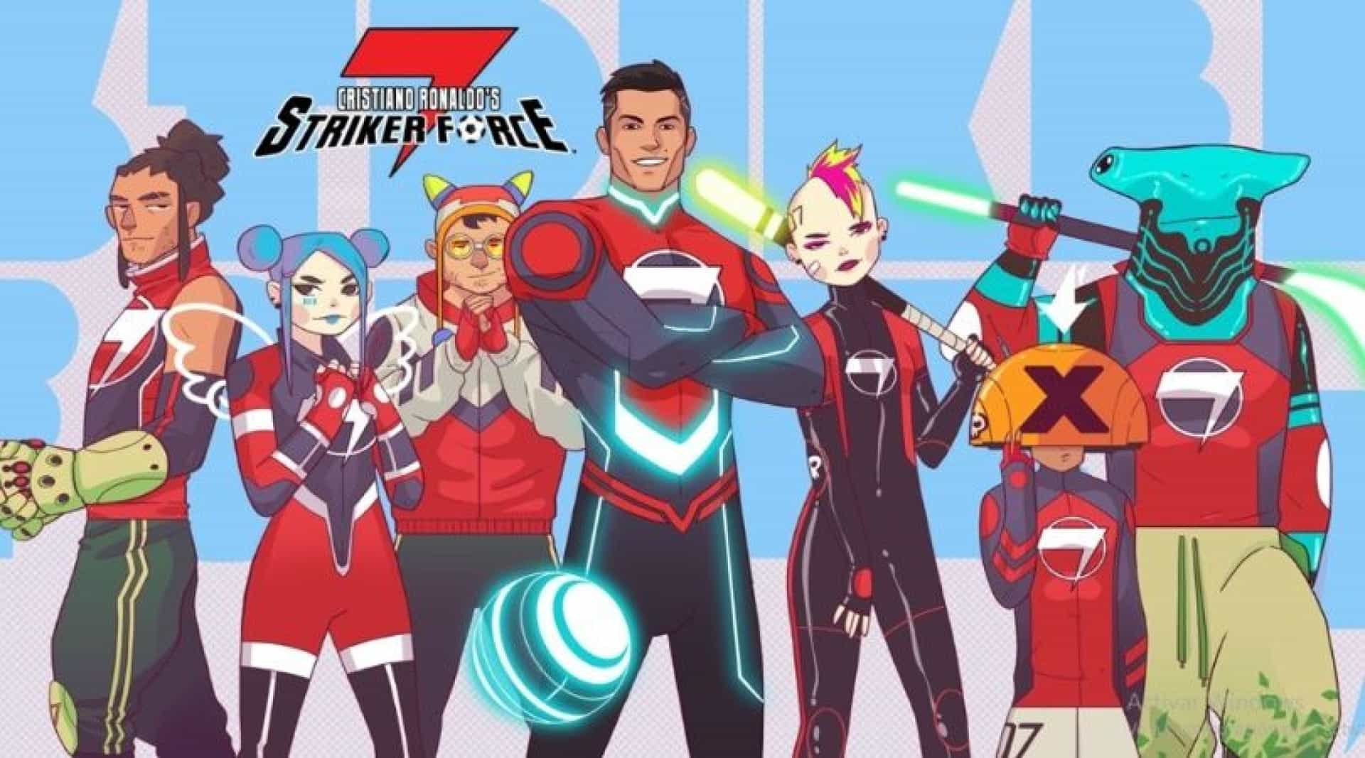 CR7 não é só herói dos relvados. Agora é super-herói de desenhos animados