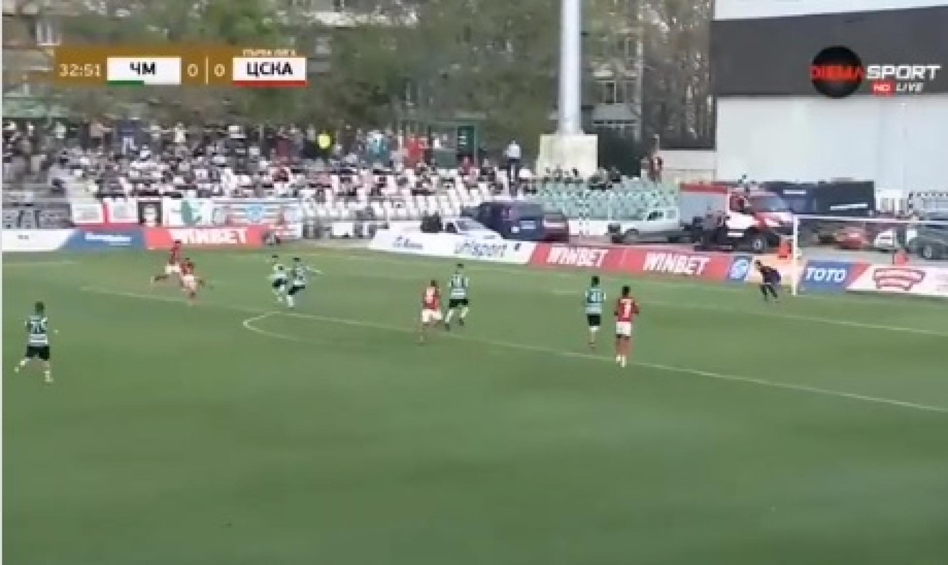 O golo fantástico de Tiago Rodrigues na Bulgária