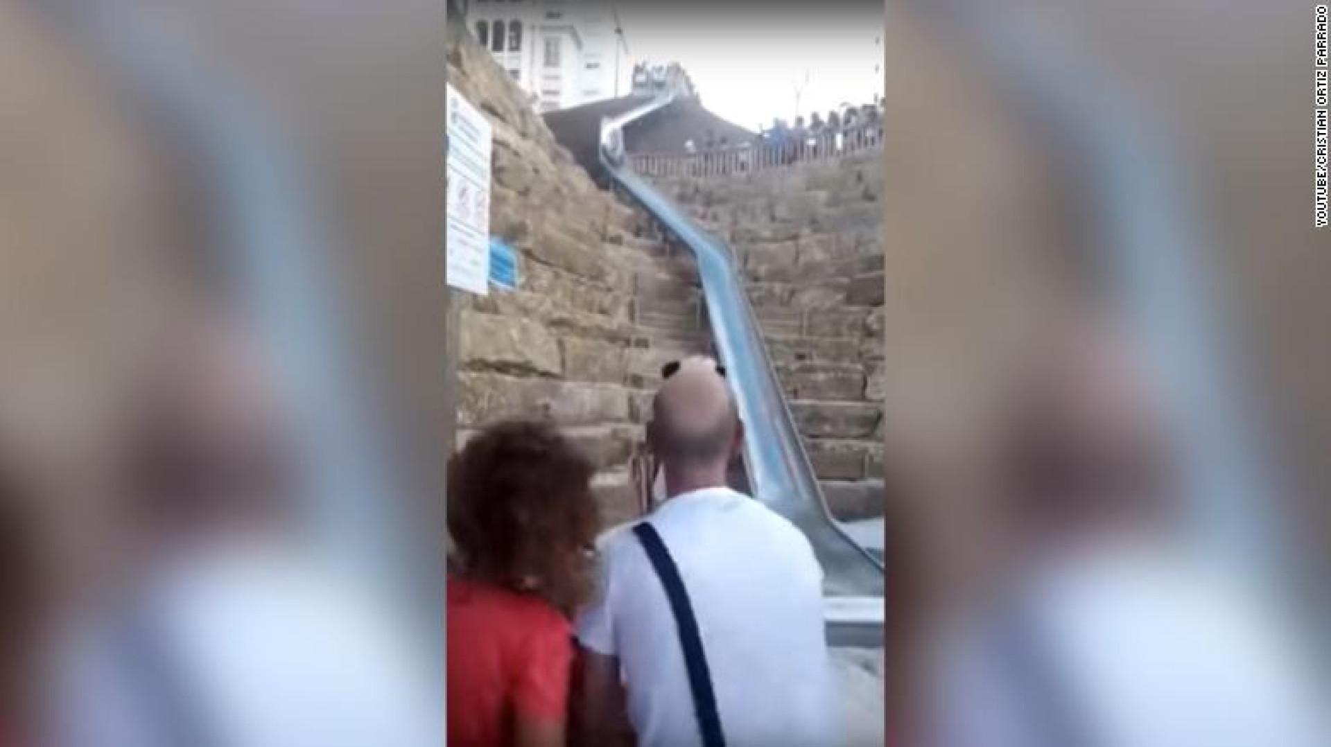 Escorrega de 38 metros encerra depois de abrir devido a várias queixas