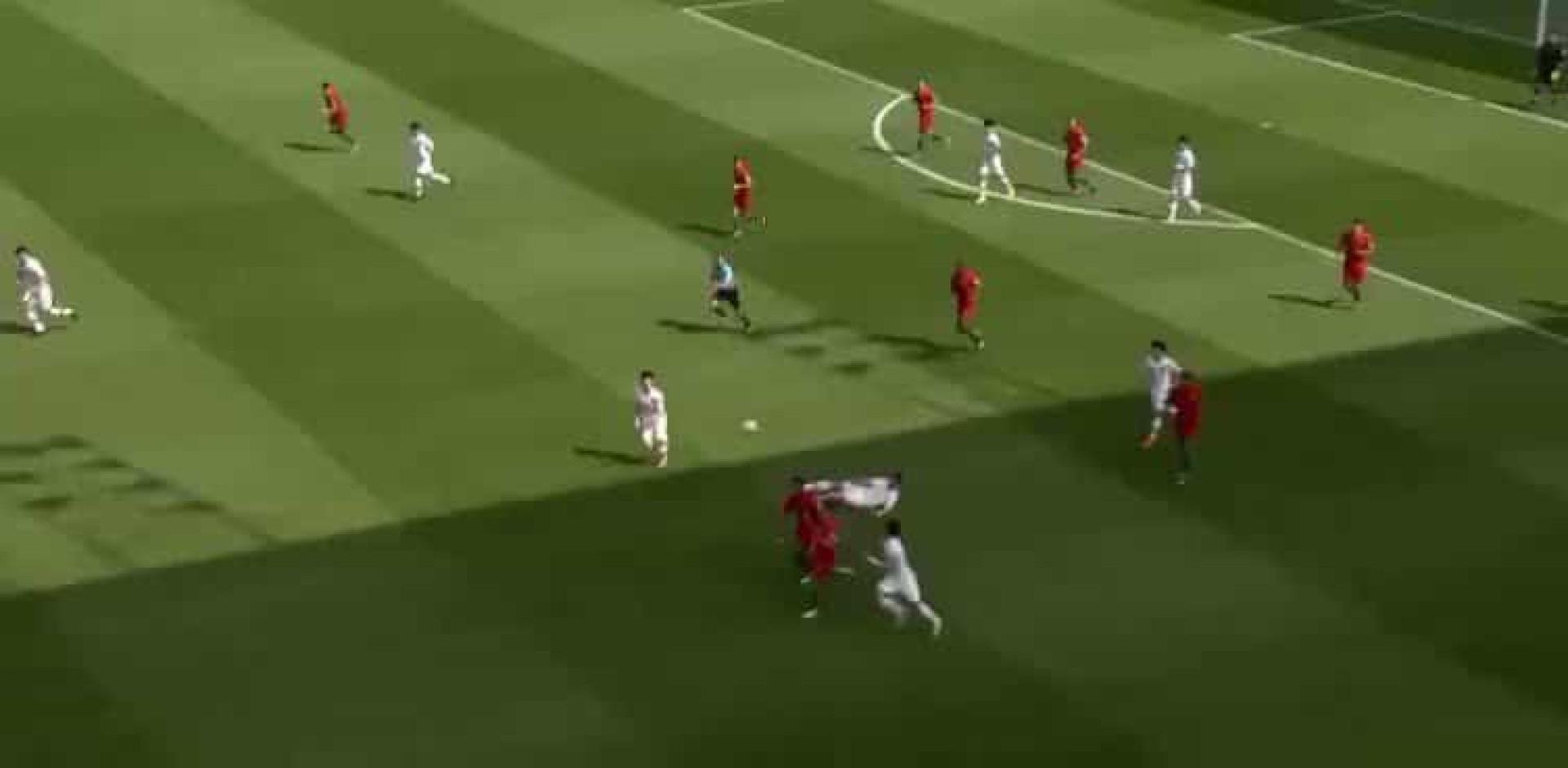 Combinação entre Jota e Trincão dá primeiro a Portugal no Mundial
