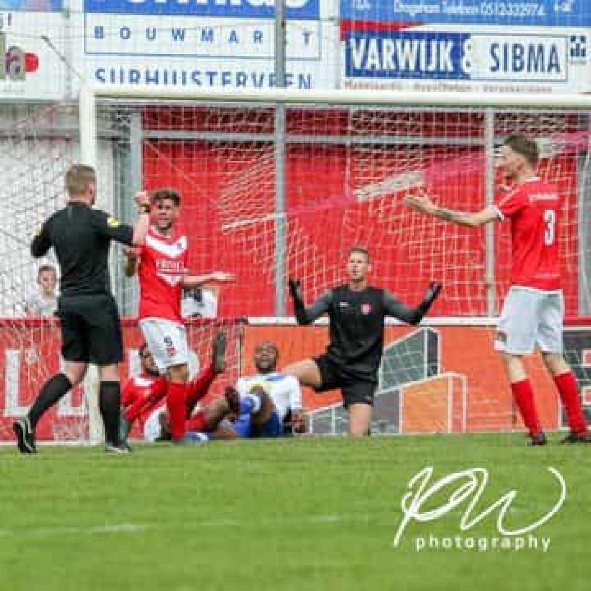 Da Holanda chega-nos um golo marcado (e validado) pelo árbitro