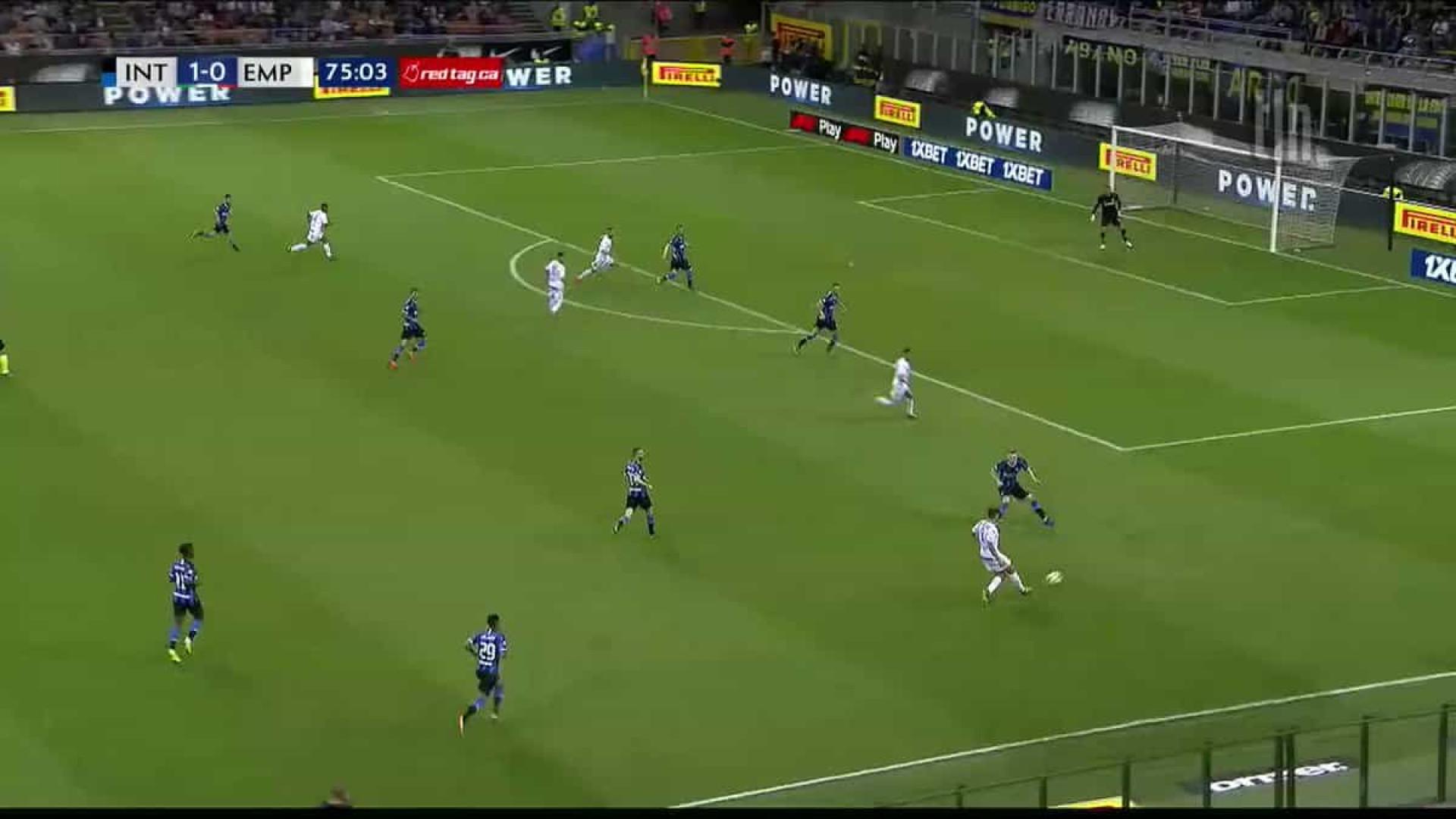 Este golo quase salvou o Empoli e tirou a Champions ao Inter