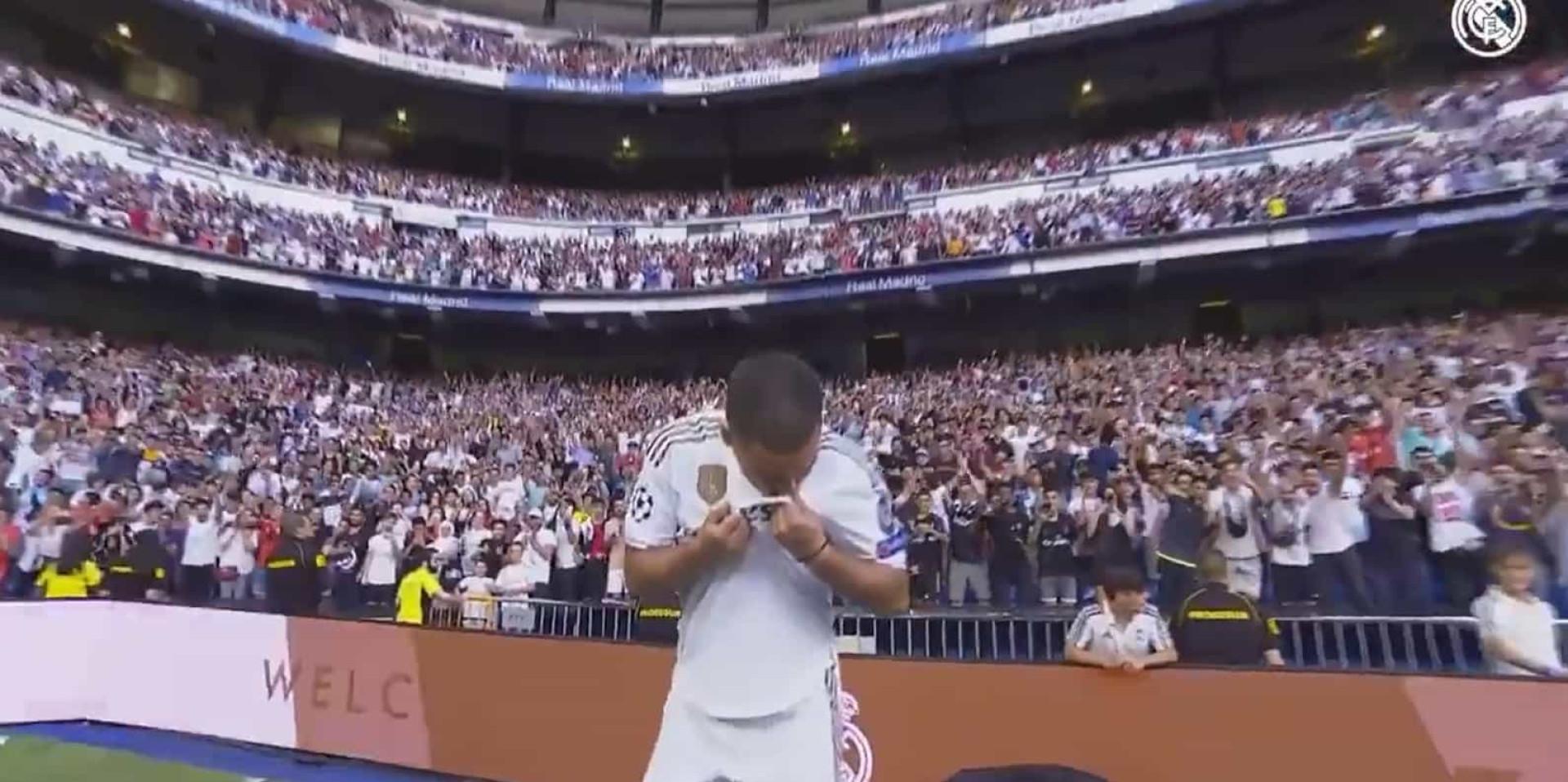 O gesto de Hazard que deixou os adeptos do Real Madrid à beira da loucura