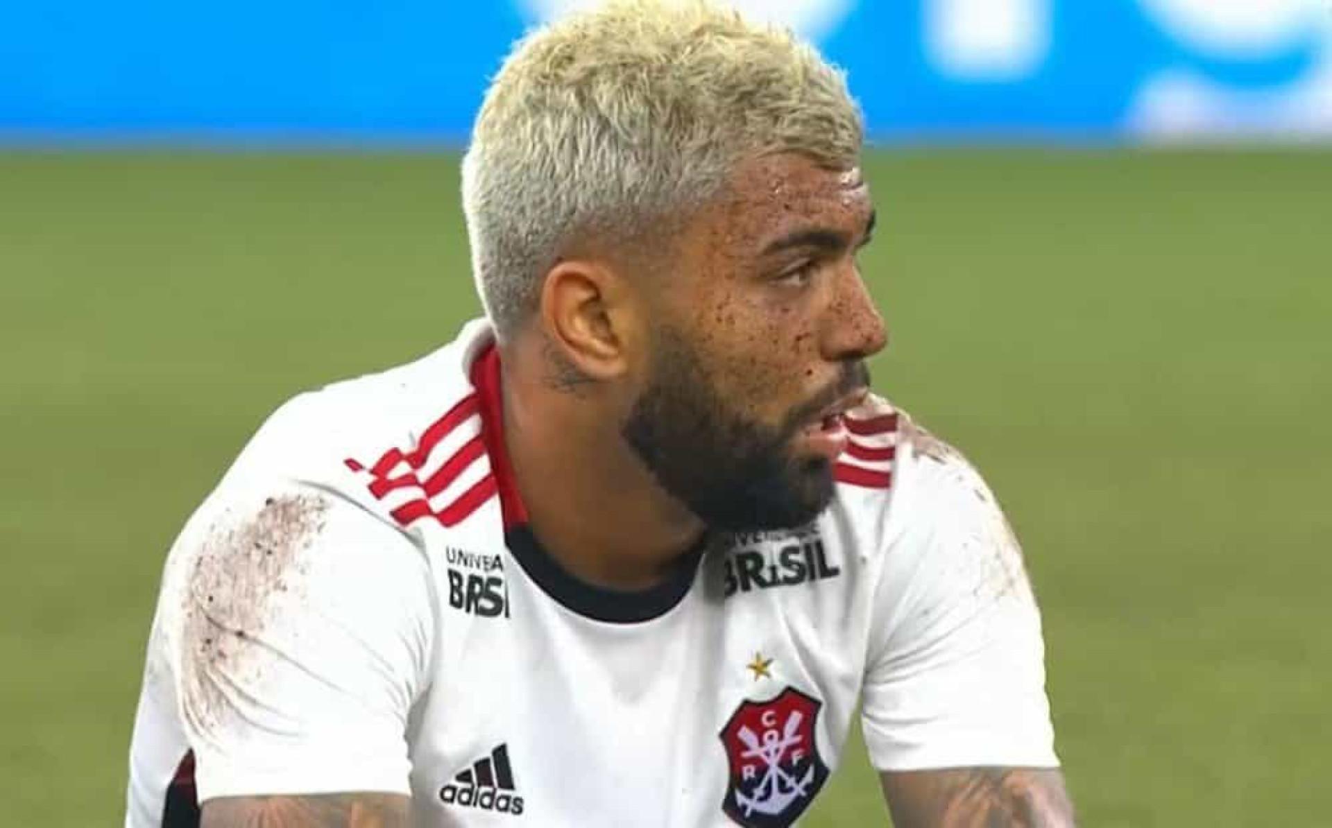 Até os adeptos do Flamengo desesperaram com esta simulação de Gabigol