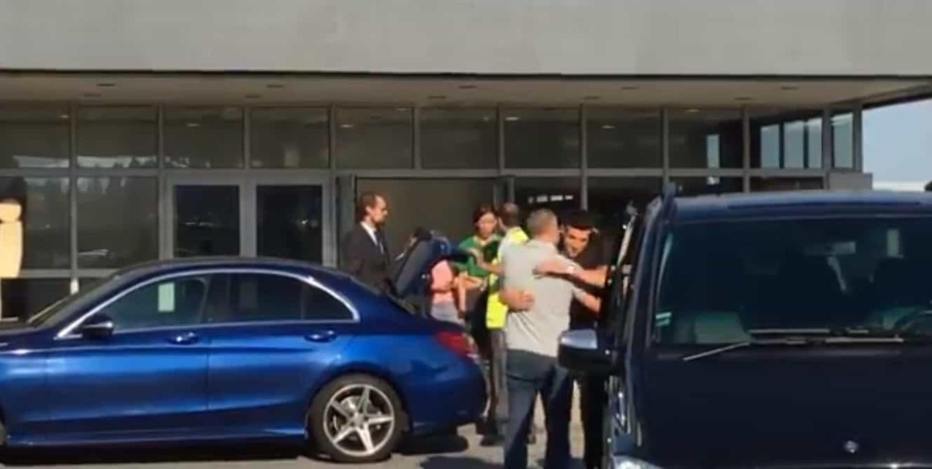 Assim foi a chegada de Marcano à Invicta
