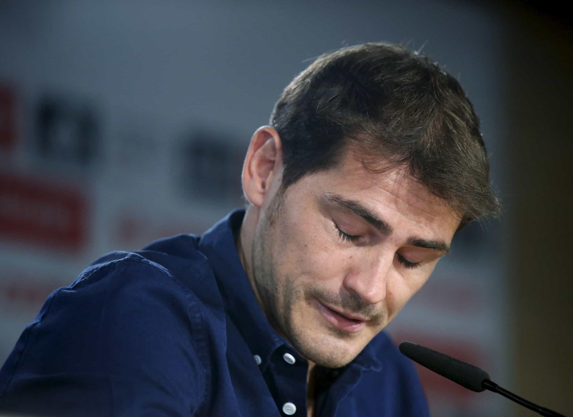 Adiós, Real Madrid: As lágrimas de Casillas que ninguém esquece