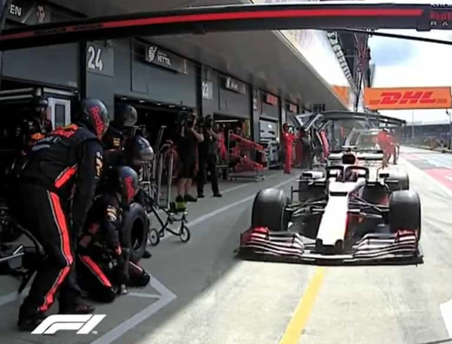 É oficial: Esta é a paragem na box mais rápida na história da Fórmula 1