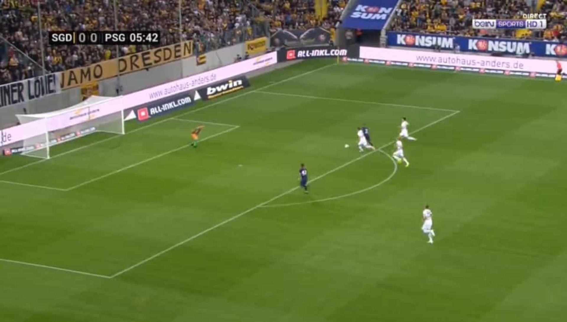 Primeiro golo de Mbappé na nova época é uma pequena maravilha