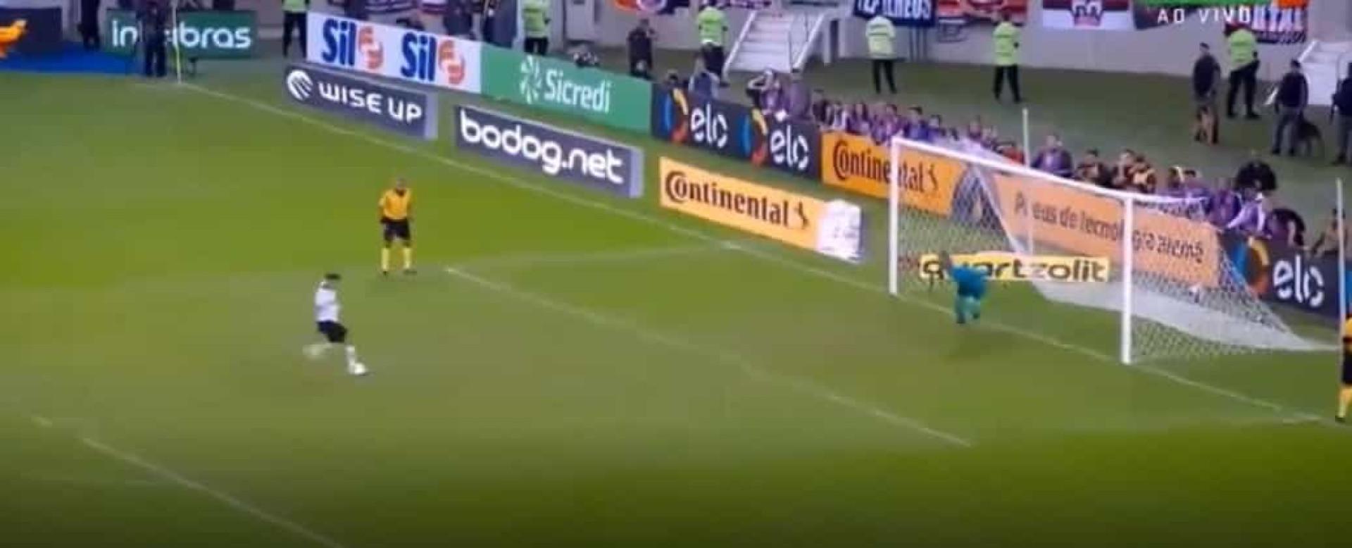 O penálti certeiro que atirou o Flamengo de Jorge Jesus para fora da Taça