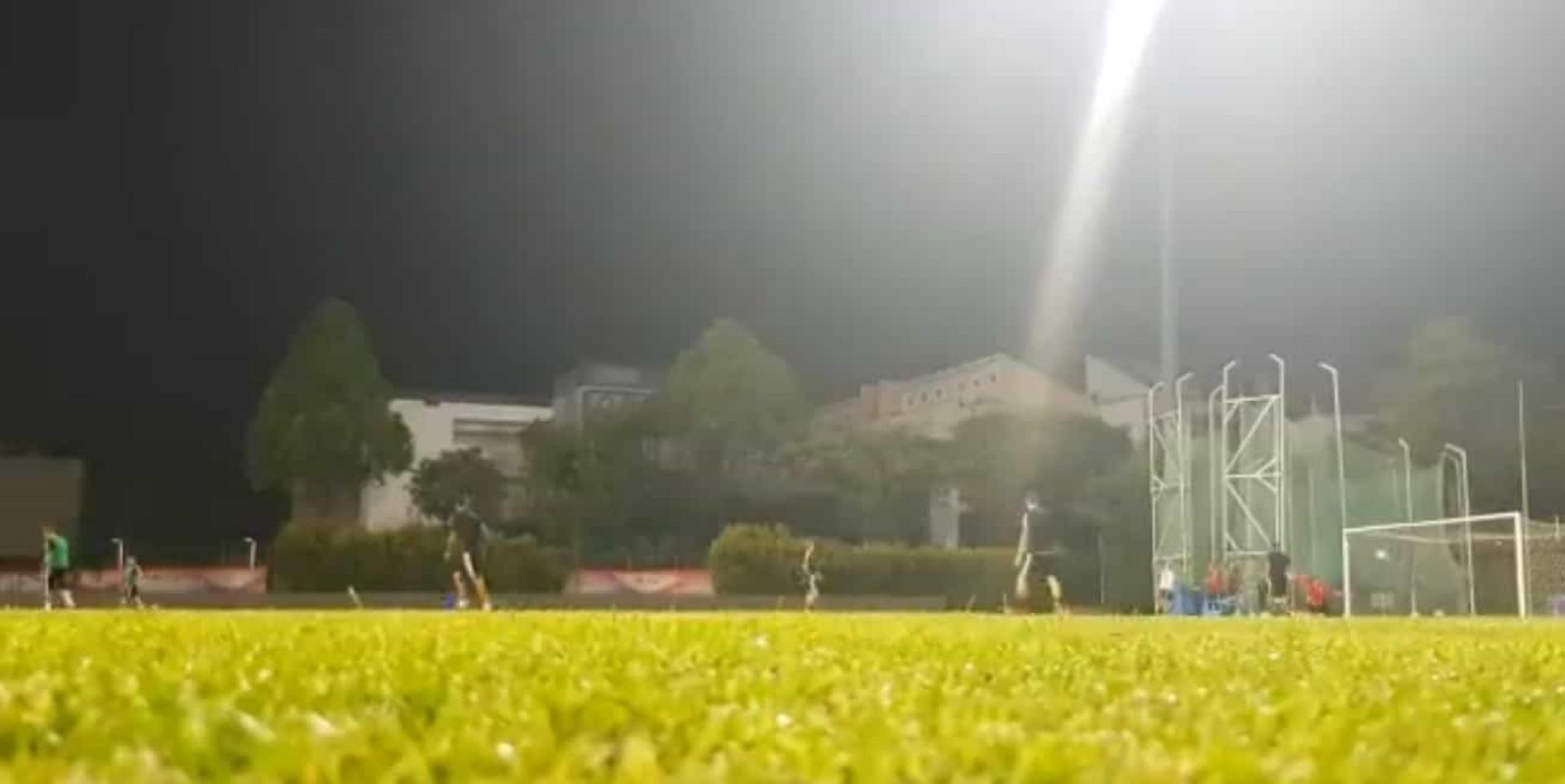 Ronaldo ainda agora chegou e já faz remates como este no treino
