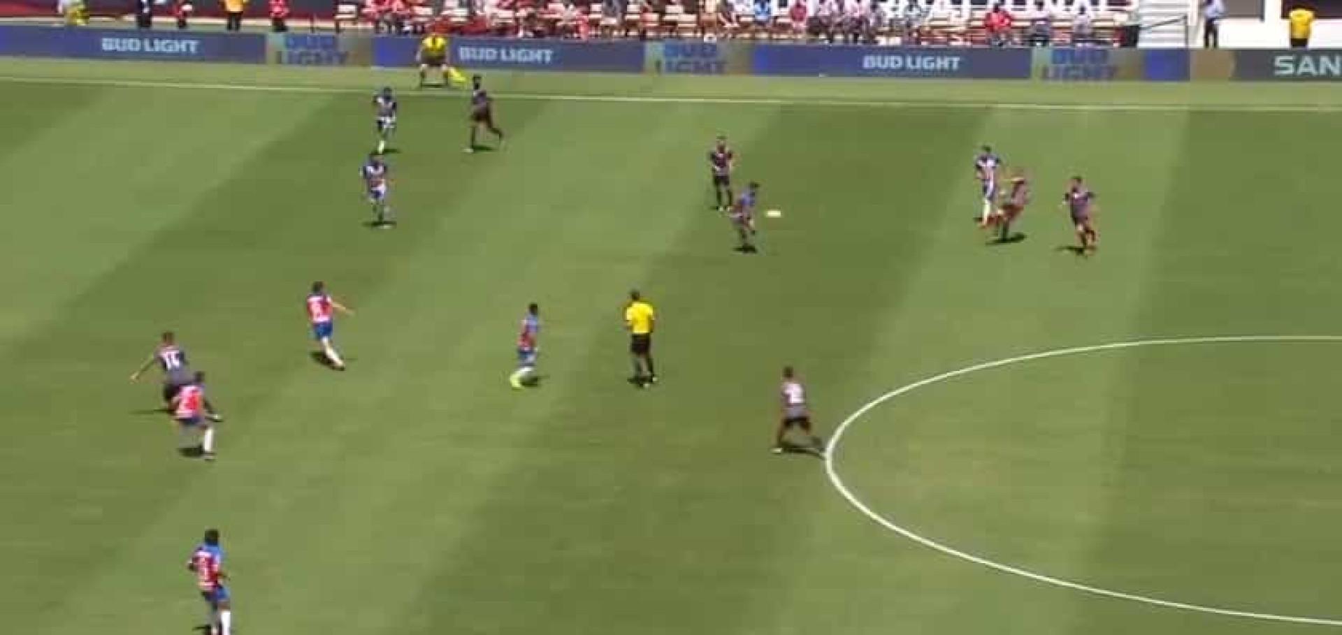 Seferovic marca contra o Chivas após bela assistência de Taarabt