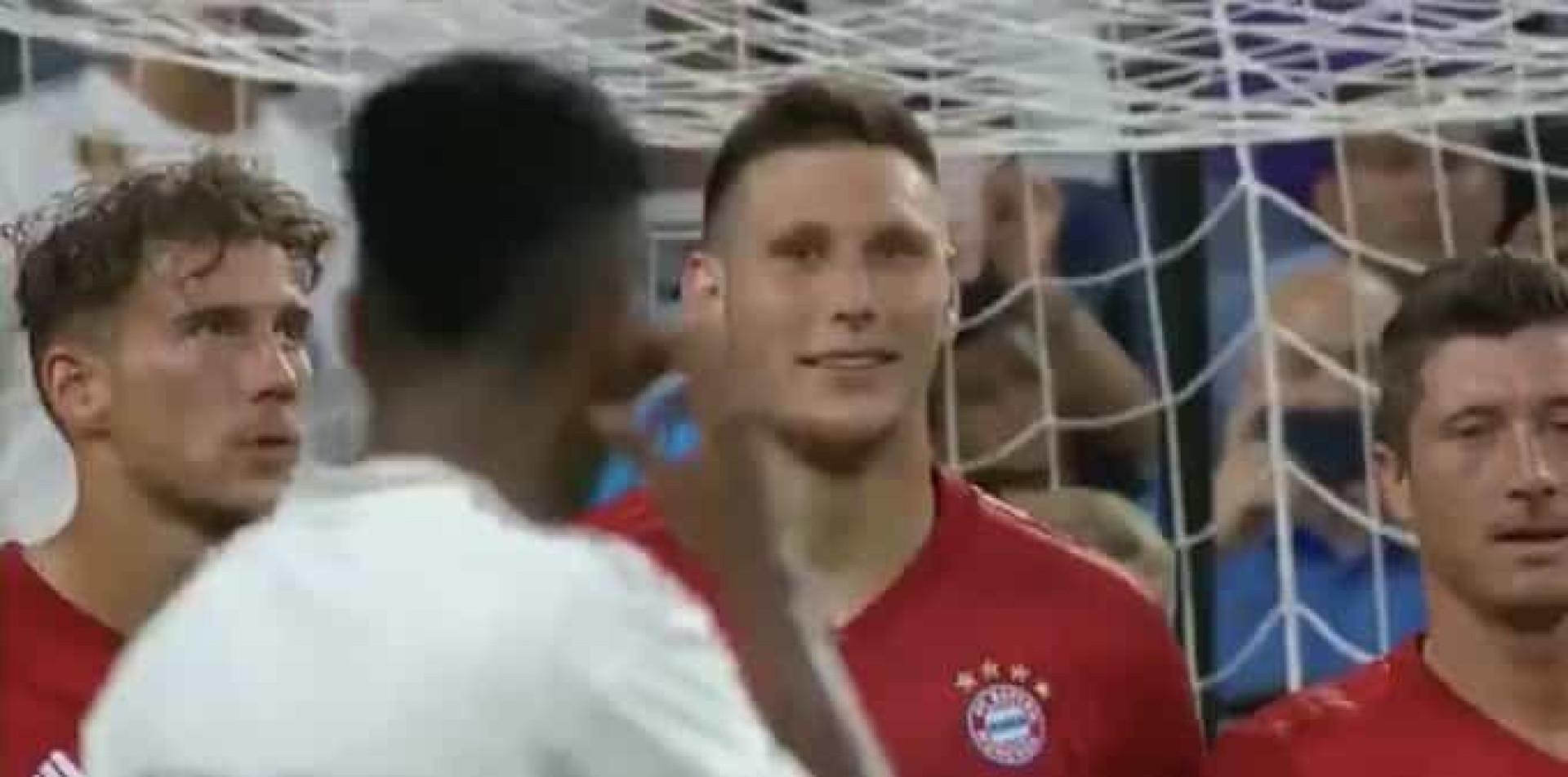 """Jogador do Bayern riu-se de Rodrygo e disse-lhe: """"Tenta lá"""""""