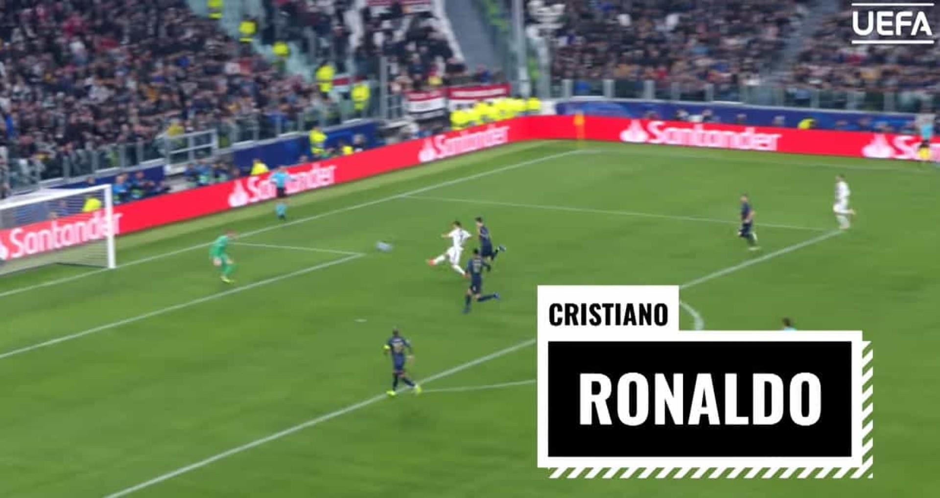 UEFA: CR7, Danilo e Nani concorrem ao prémio de melhor golo da época