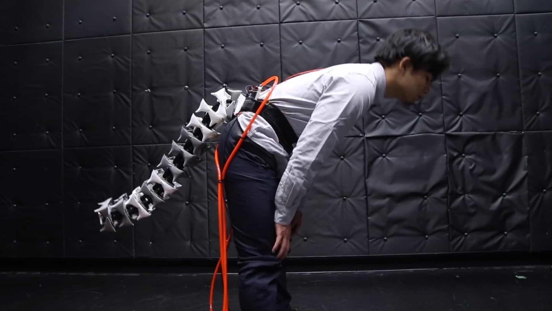 Investigadores querem impedir que tropece com cauda robótica
