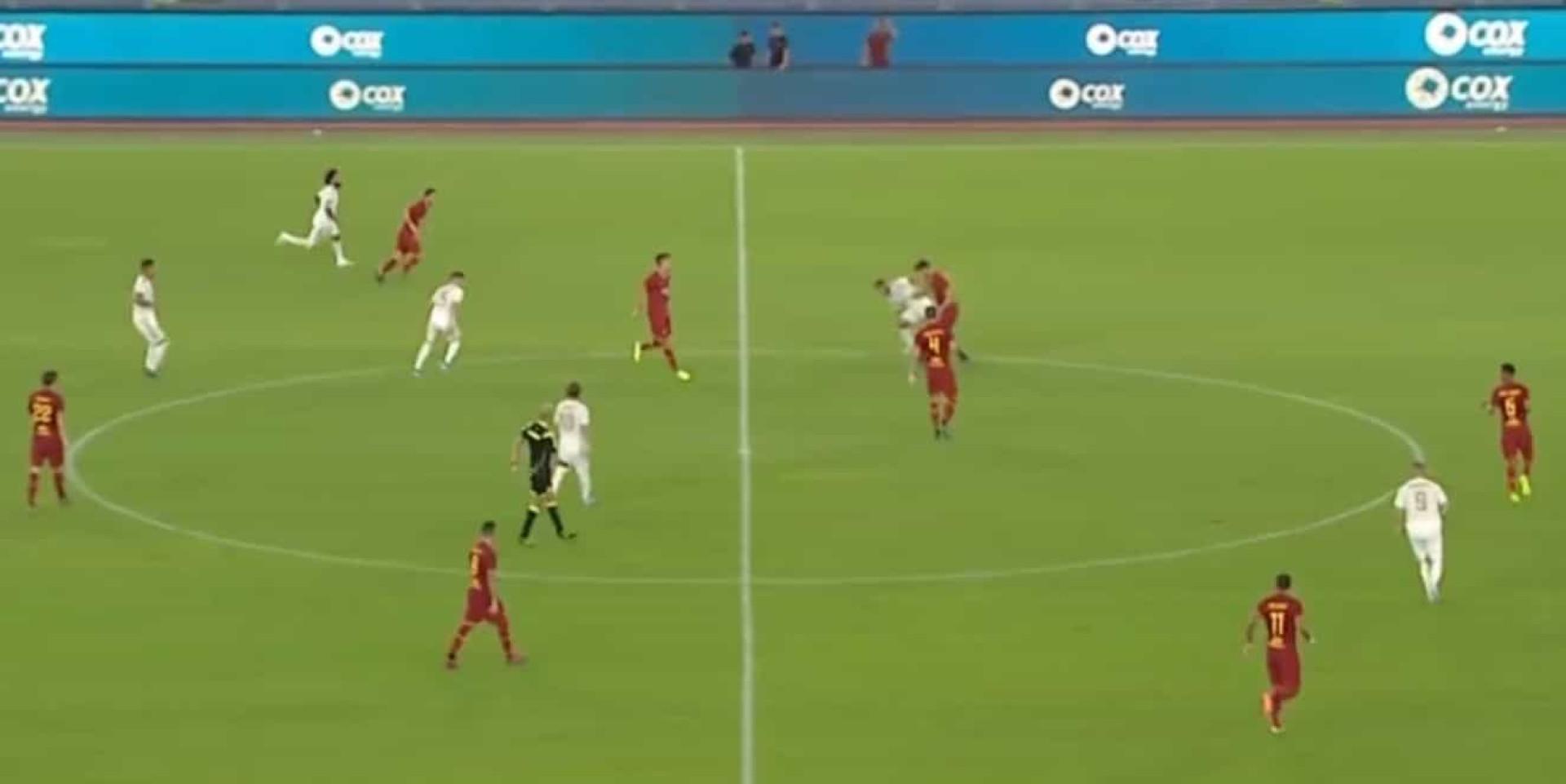 A jogada de Hazard que gera desconfiança no Bernabéu