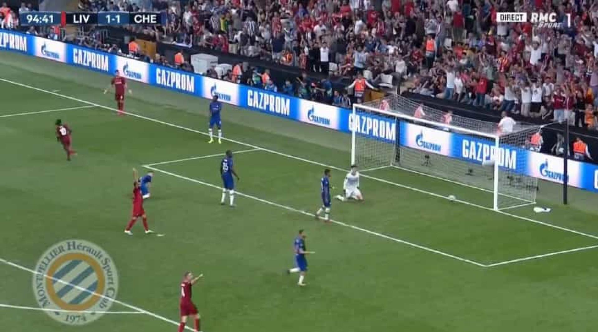 Mané deixou adeptos do Liverpool em êxtase com este golo