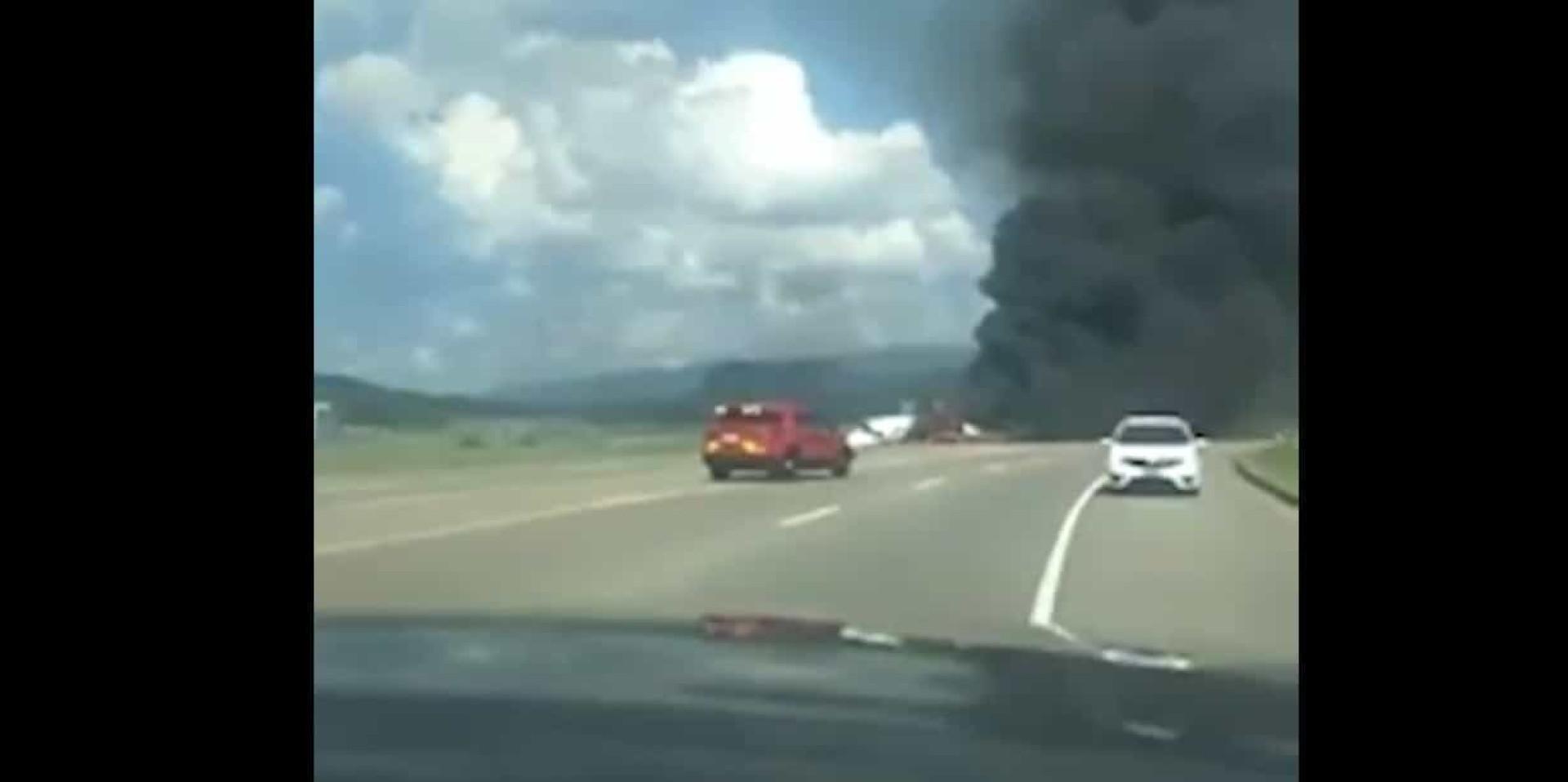 Avião acabou em chamas: Piloto da NASCAR sobrevive a terrível acidente