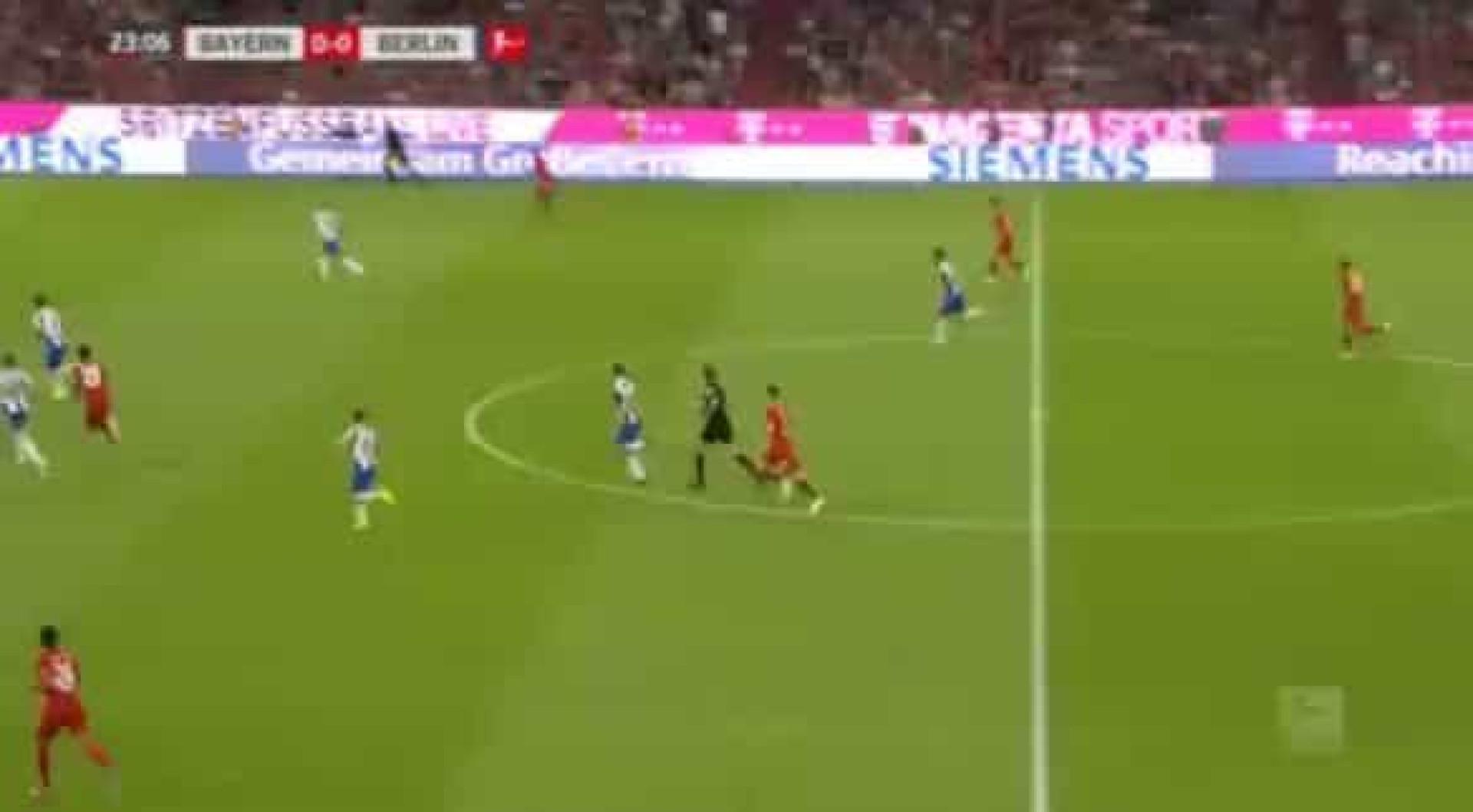 Bundesliga ainda agora regressou e Lewandowski já marcou