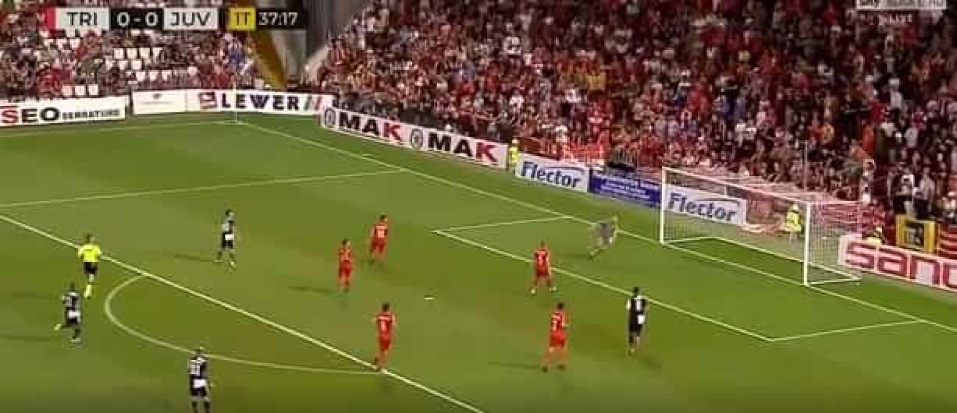 Dybala faz golo monumental pela Juventus que promete correr o mundo