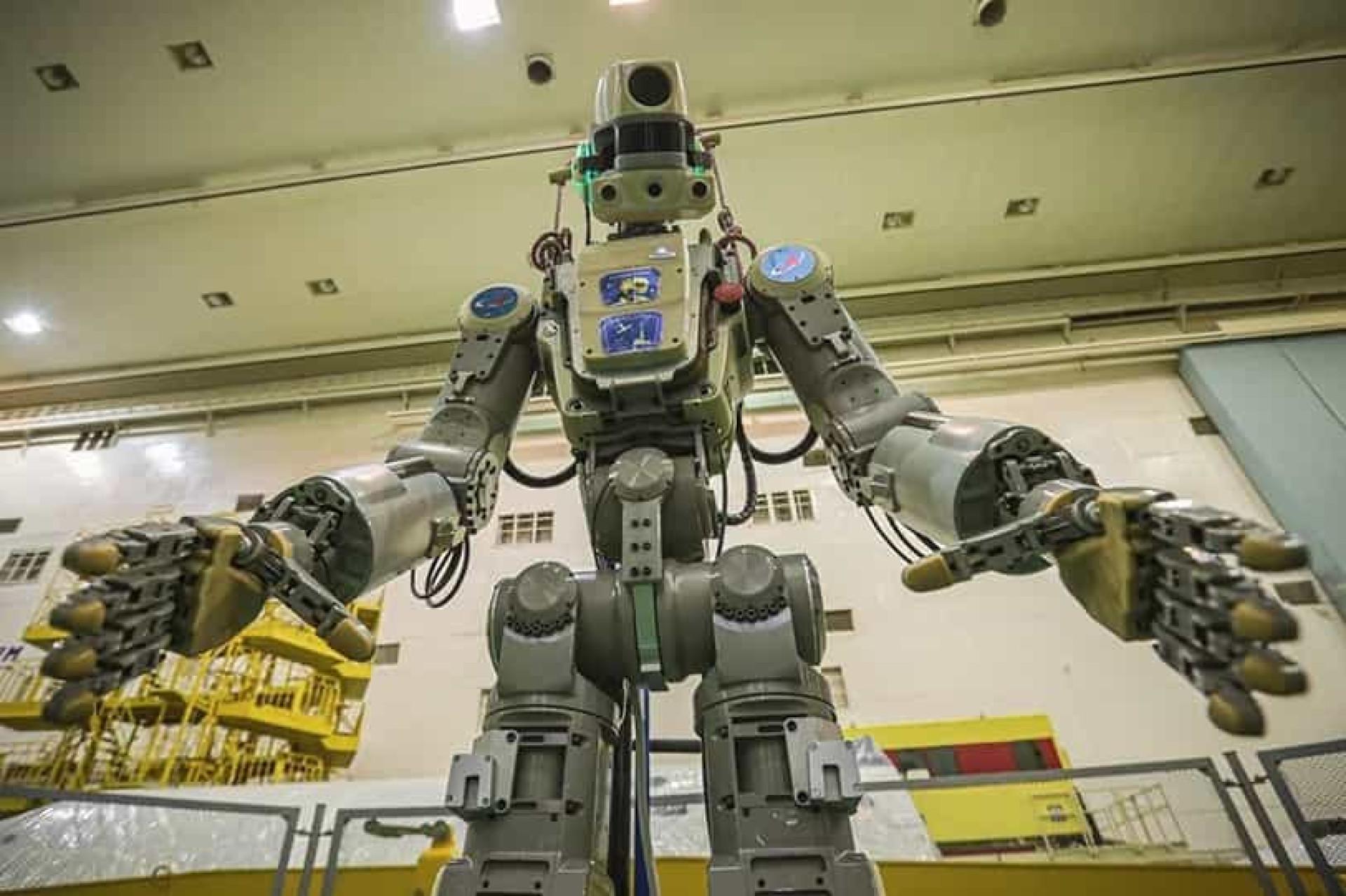 Rússia vai enviar para a Estação Espacial um robot humanoide inteligente