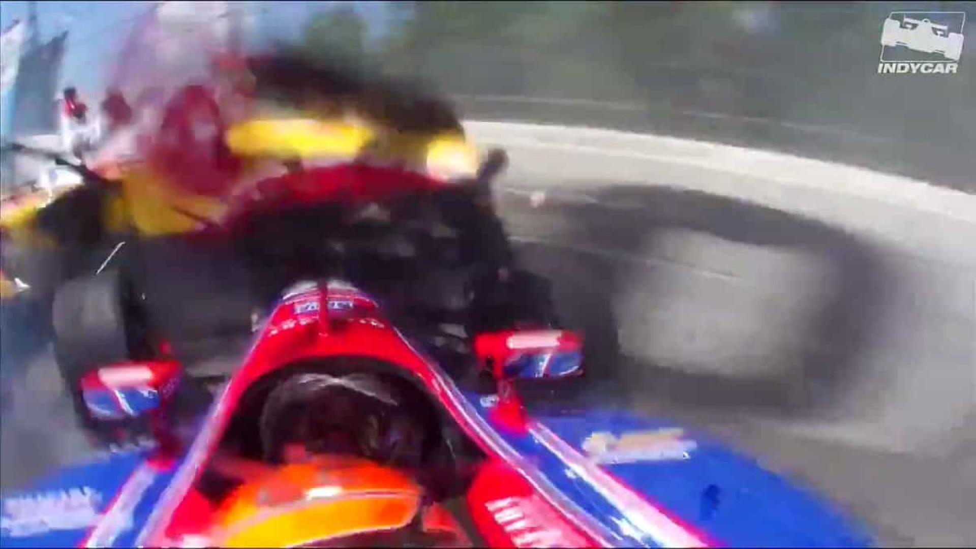 Arrepiante: Vídeo mostra como viram pilotos acidente na Indy Series