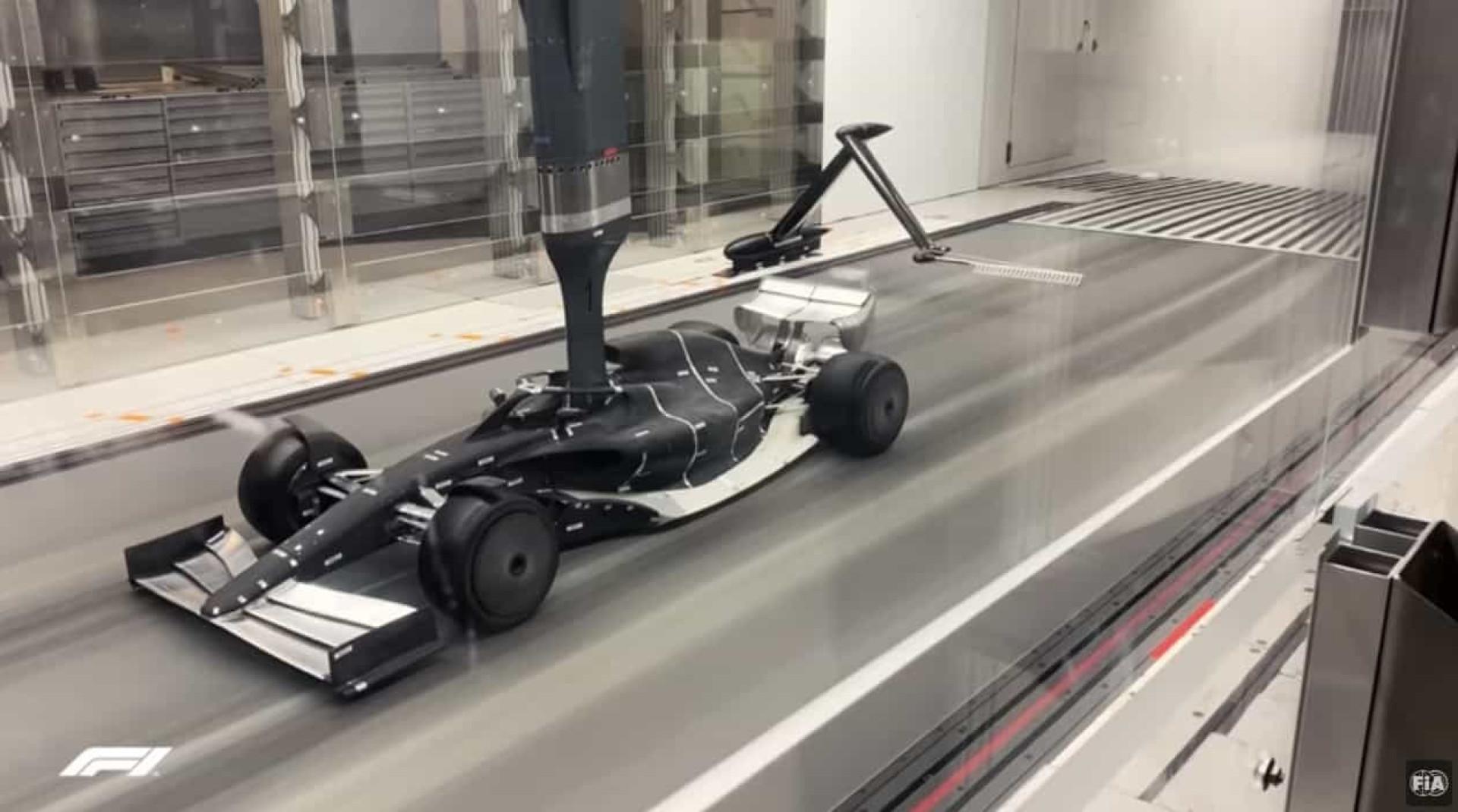Formula 1 desvenda primeiras imagens dos carros para 2021