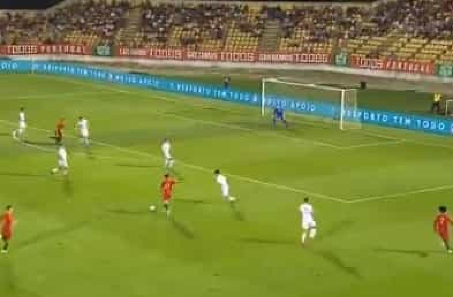 Trincão marca golo de levantar o estádio no apuramento para o Europeu