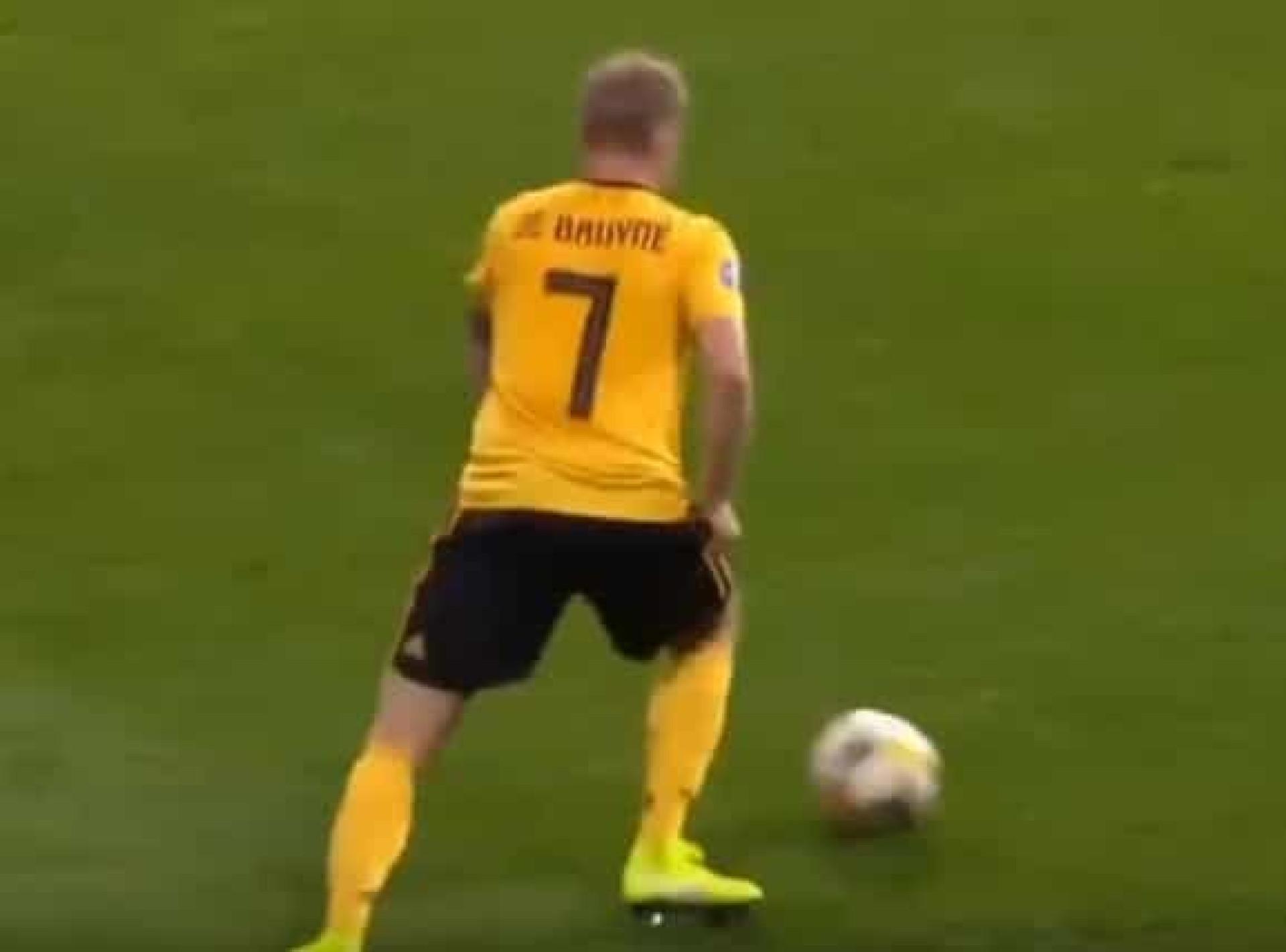A noite mágica de De Bruyne: Três assistências em 23 minutos e um golo