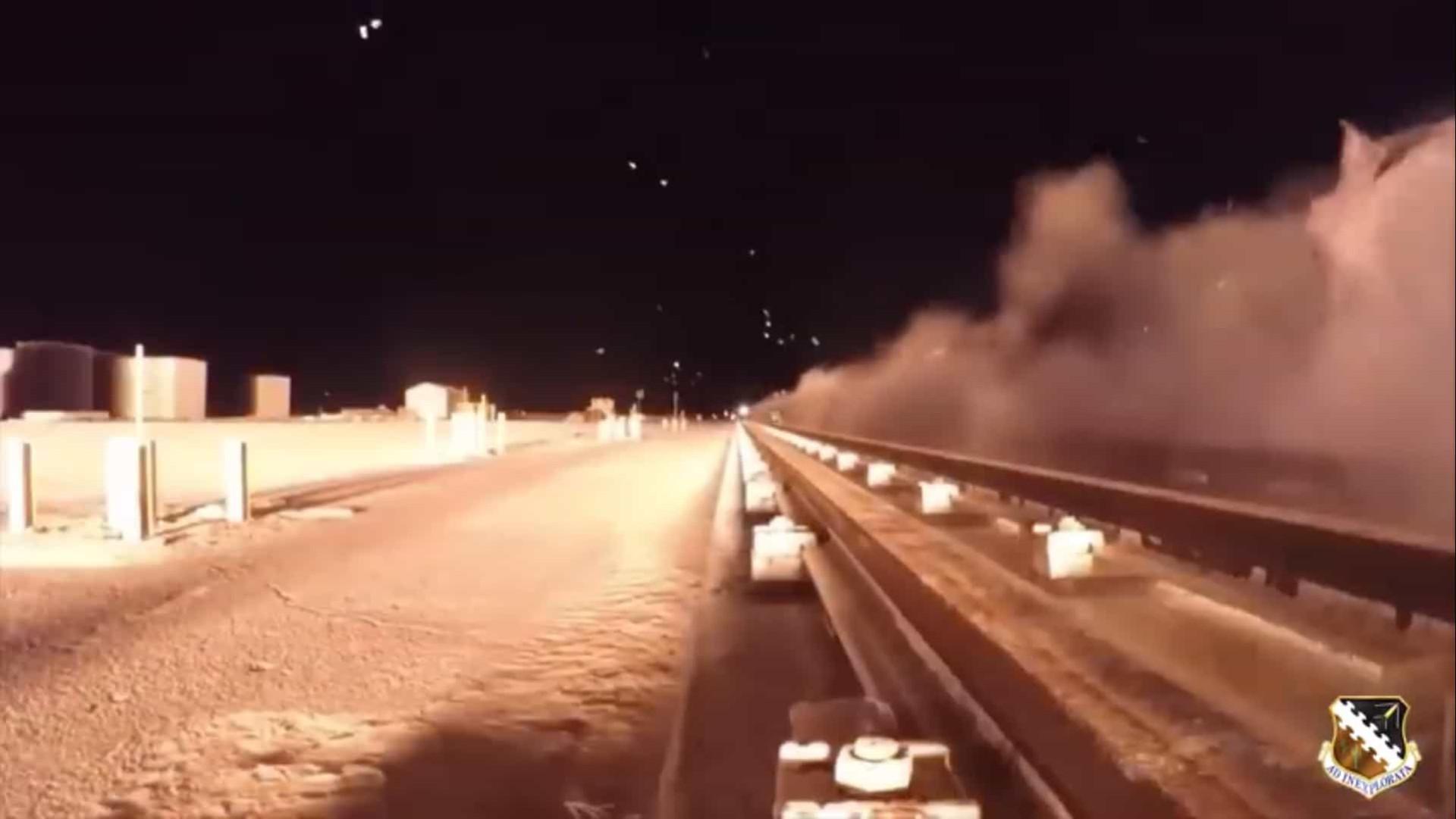 Viu alguma coisa? Teste de alta velocidade ultrapassa os 10.000 km/h