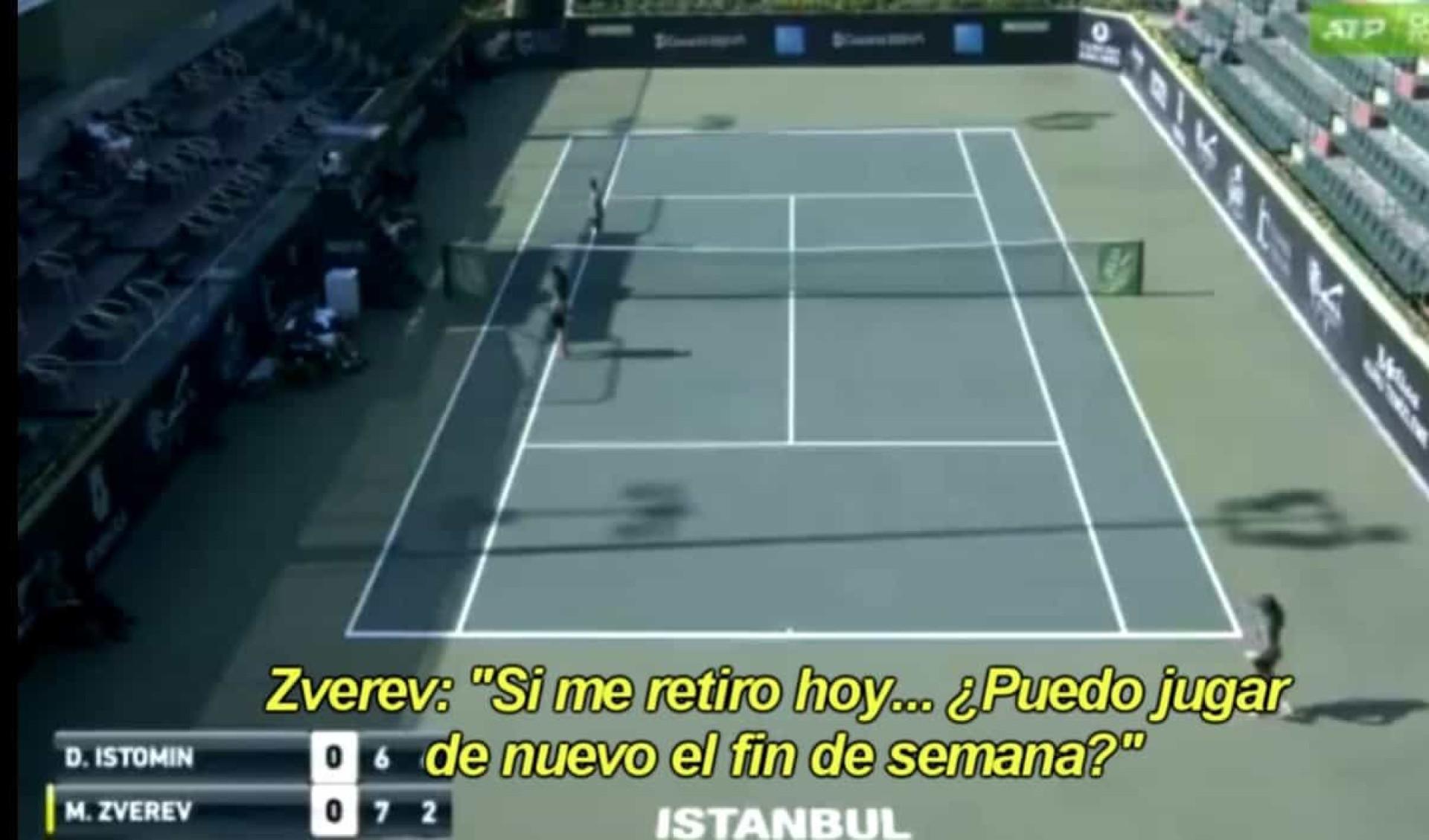 O que este tenista pediu a um árbitro deixa em xeque o mundo do desporto