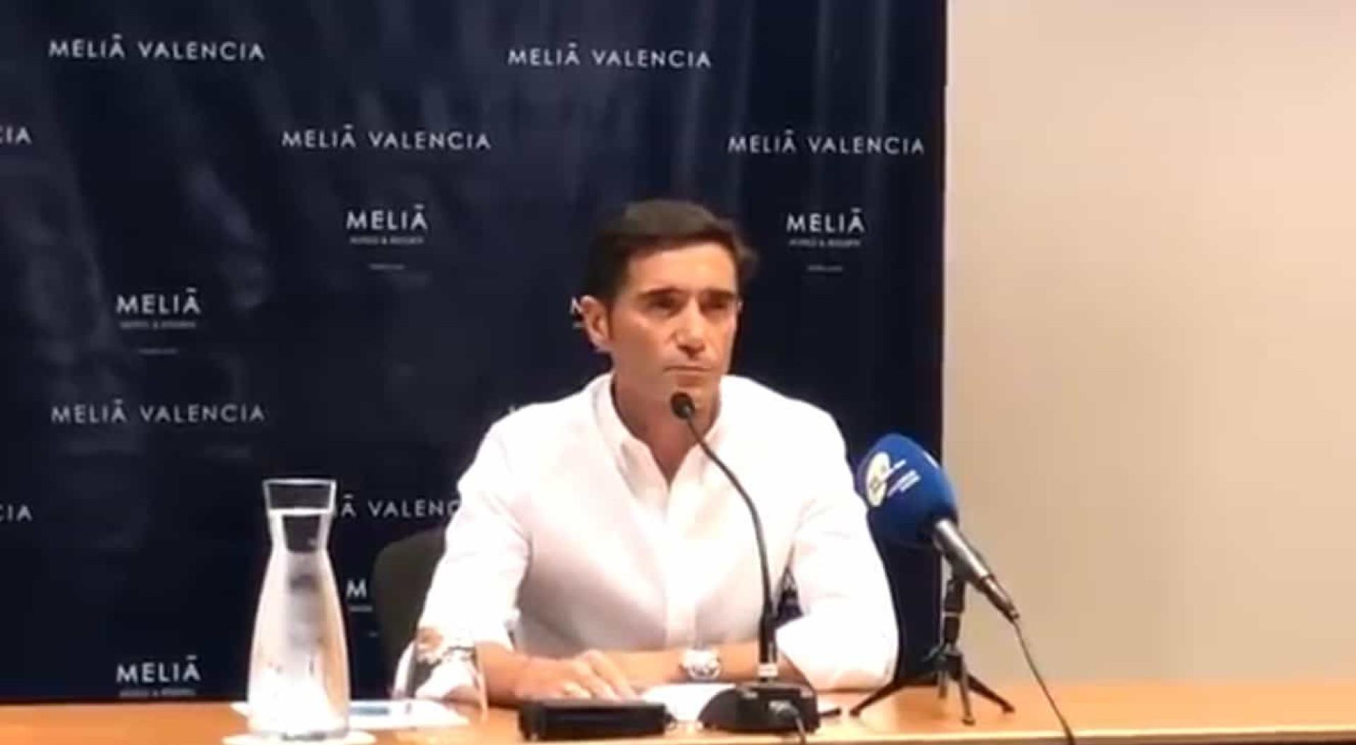 Despedida emocionada: As lágrimas de Marcelino no adeus ao Valencia