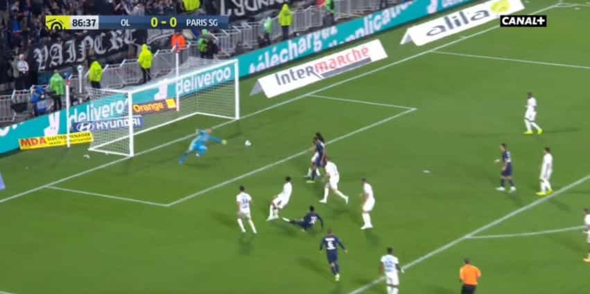 Foi assim que a magia de Neymar decidiu o Lyon-PSG
