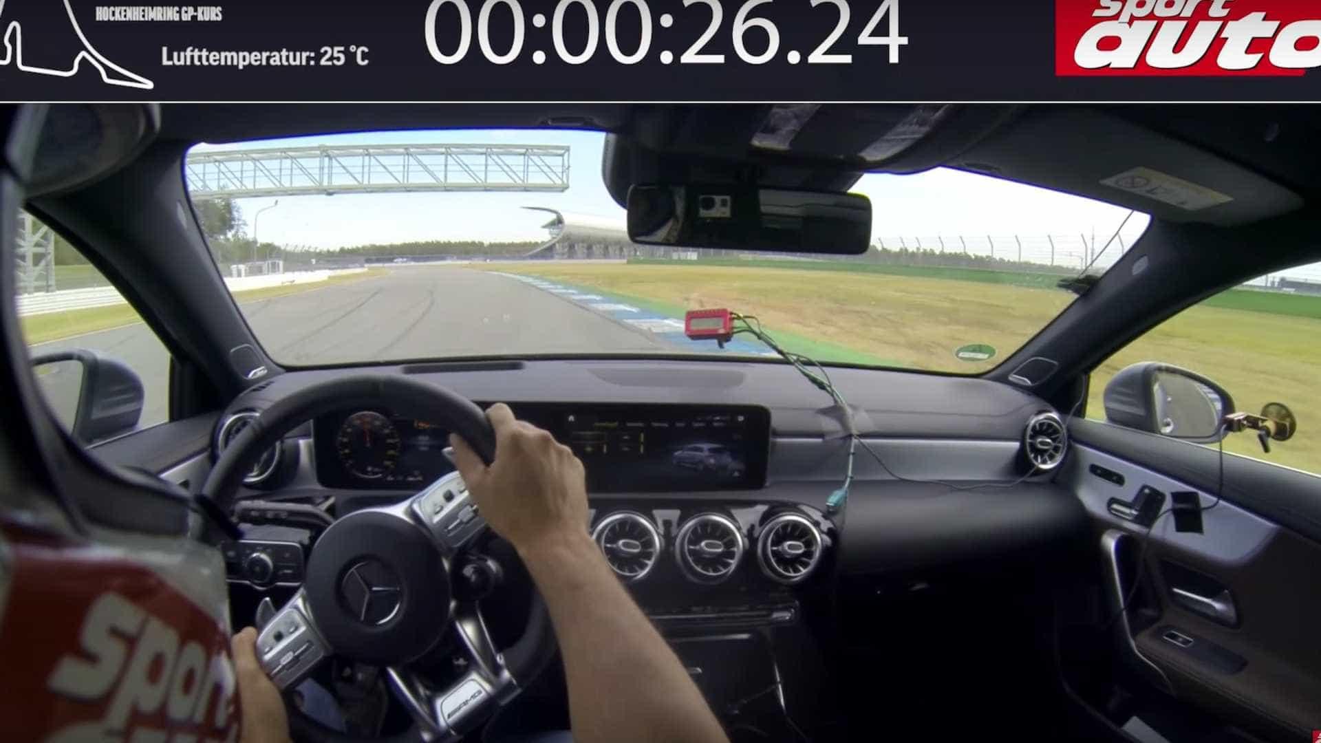Mercedes-AMG A45 S mostra aquilo de que é capaz em Hockenheim