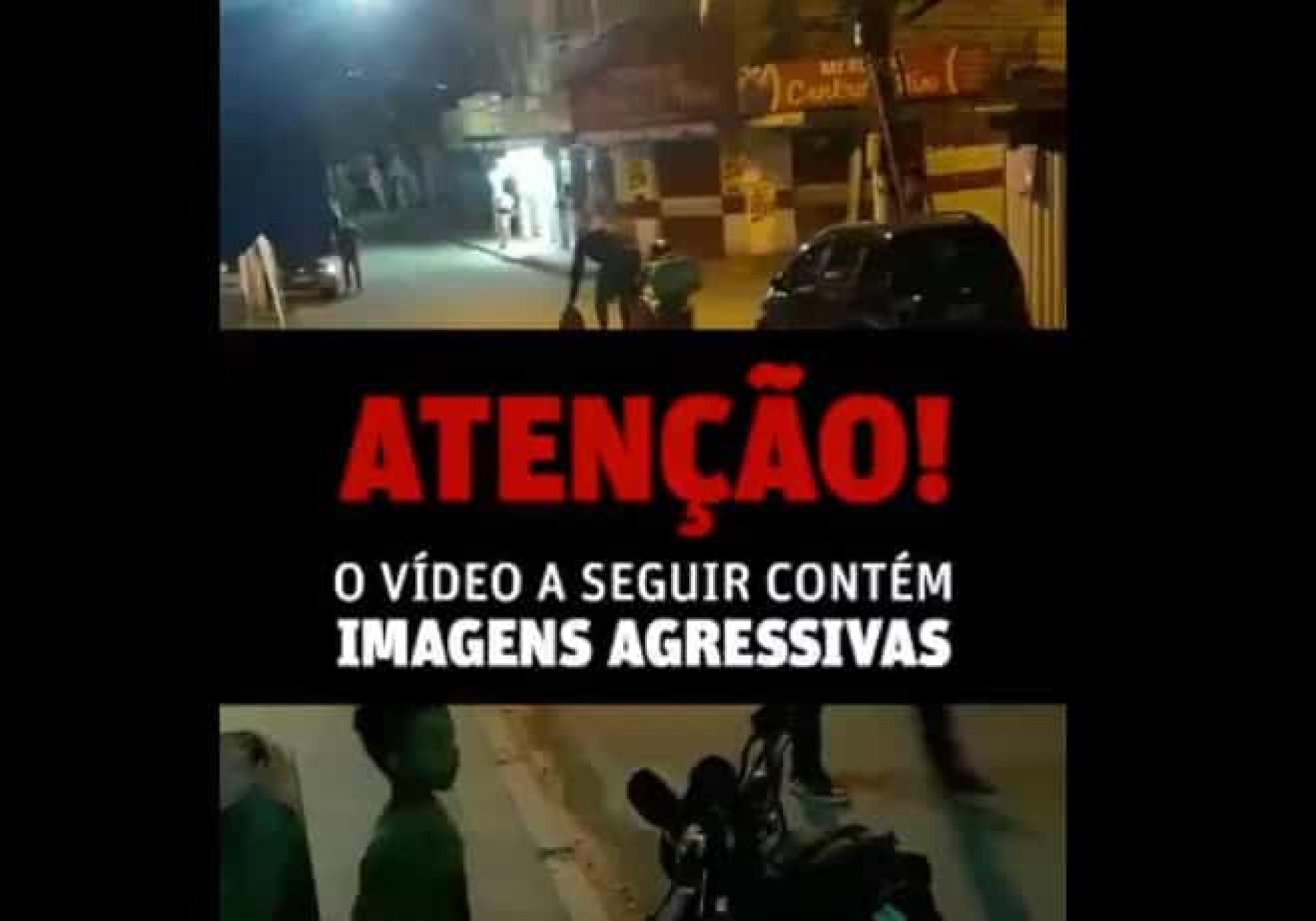 Imagens chocantes: Bomba explode após cair de bolso de adepto do Flamengo