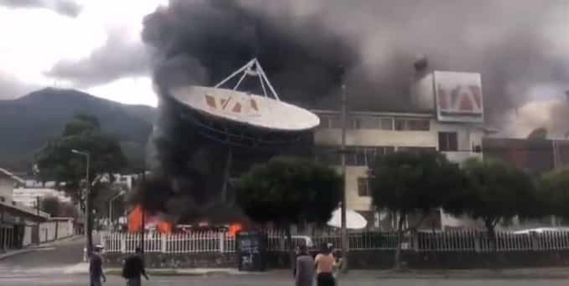 Momentos de terror no Equador obrigam à suspensão da Libertadores