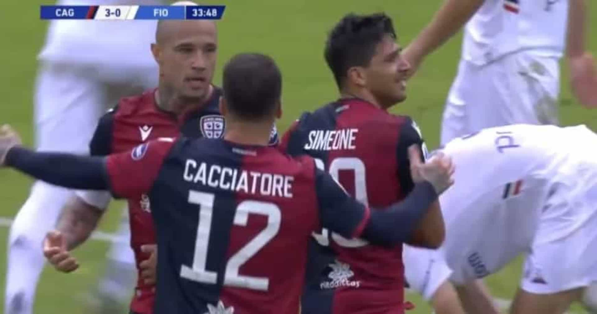 Simeone marcou e não conteve as lágrimas ao lembrar Astori