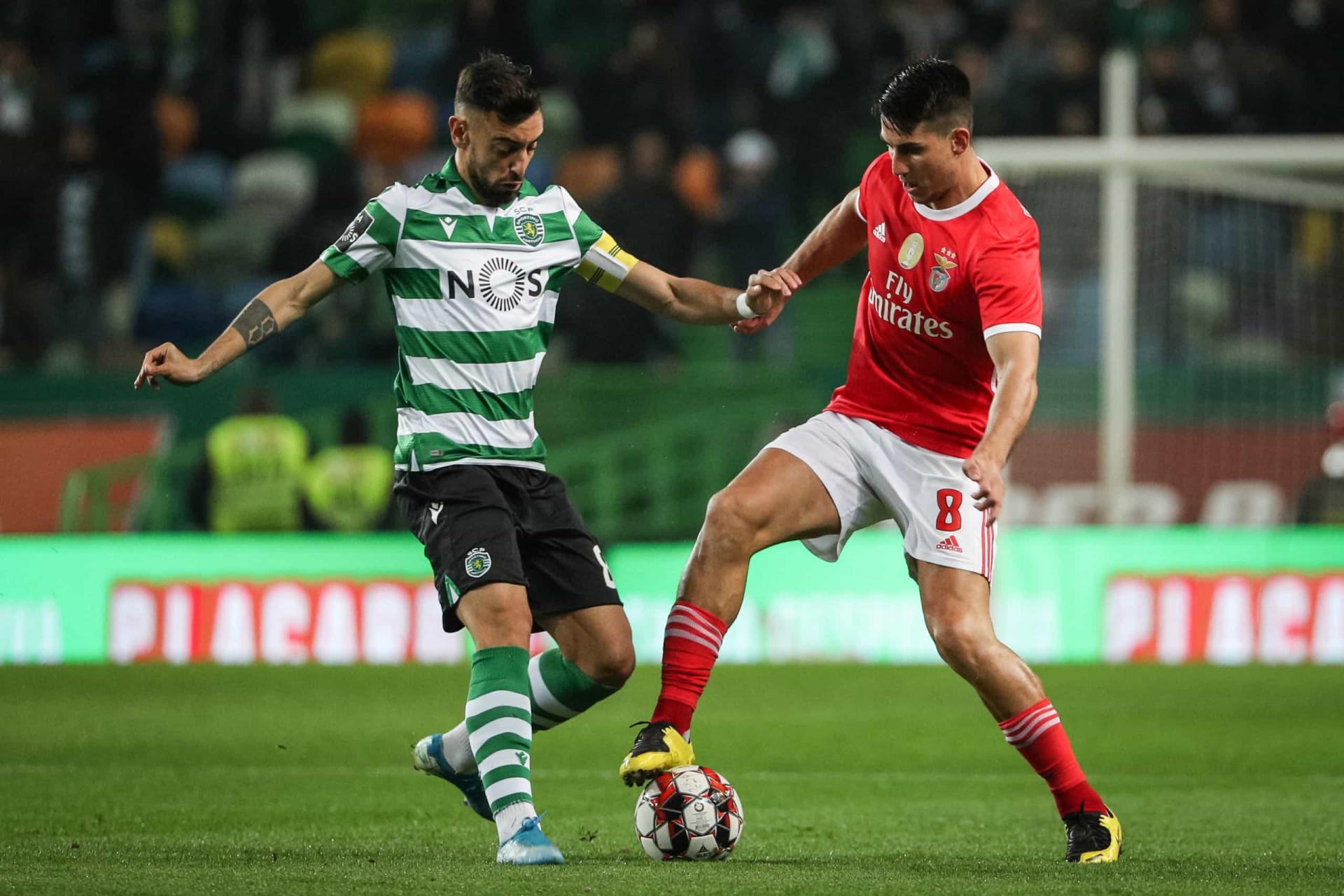 Sporting Benfica As Imagens Do D U00e9rbi Eterno Que N U00e3o