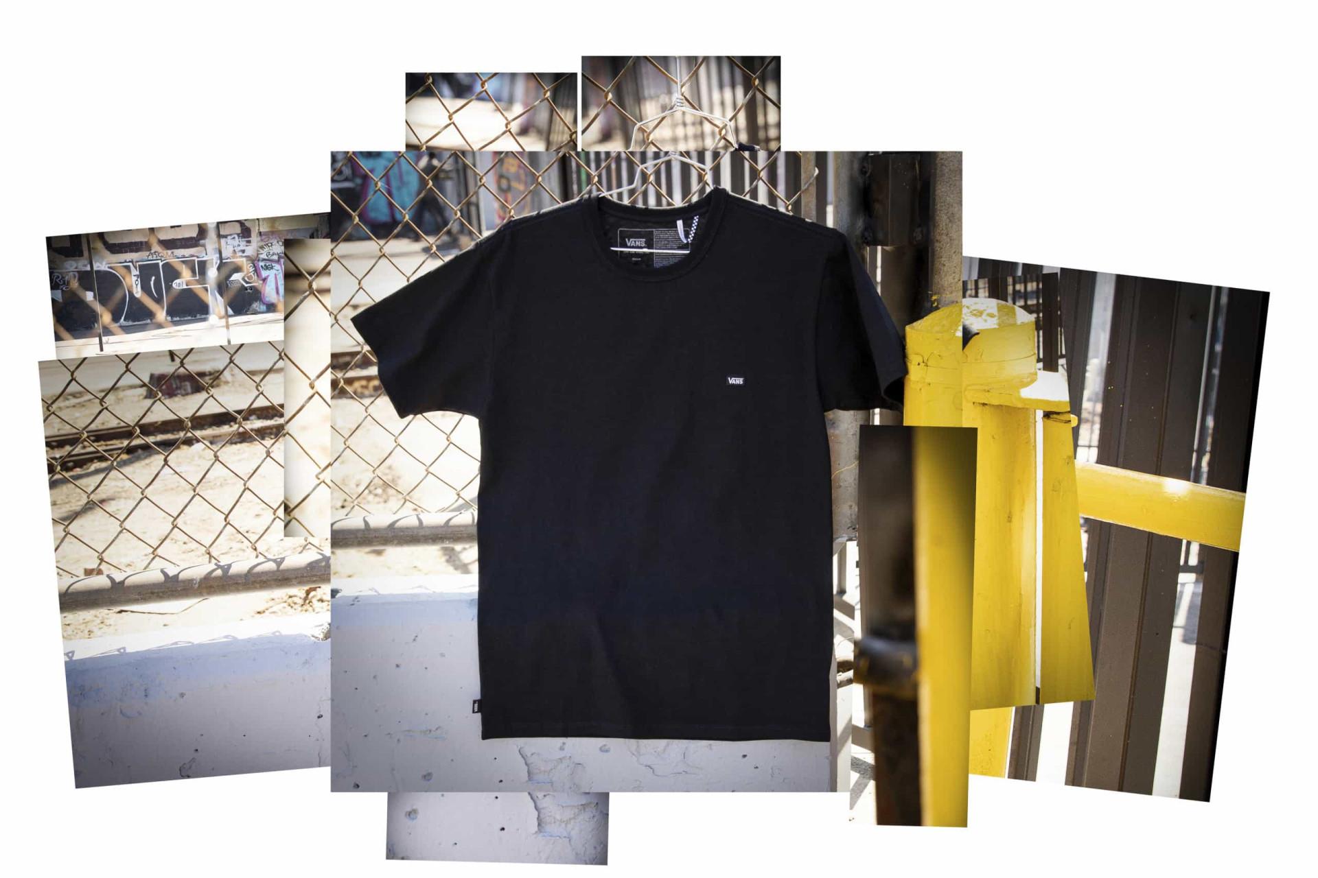 Básico Vans de todos os dias - A T-Shirt Off The Wall