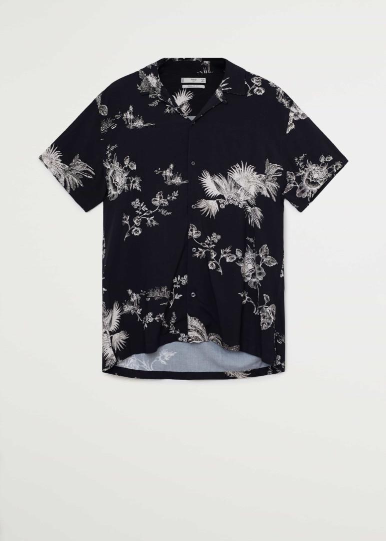 Tendência de verão: Mango apresenta camisas de homem com padrões