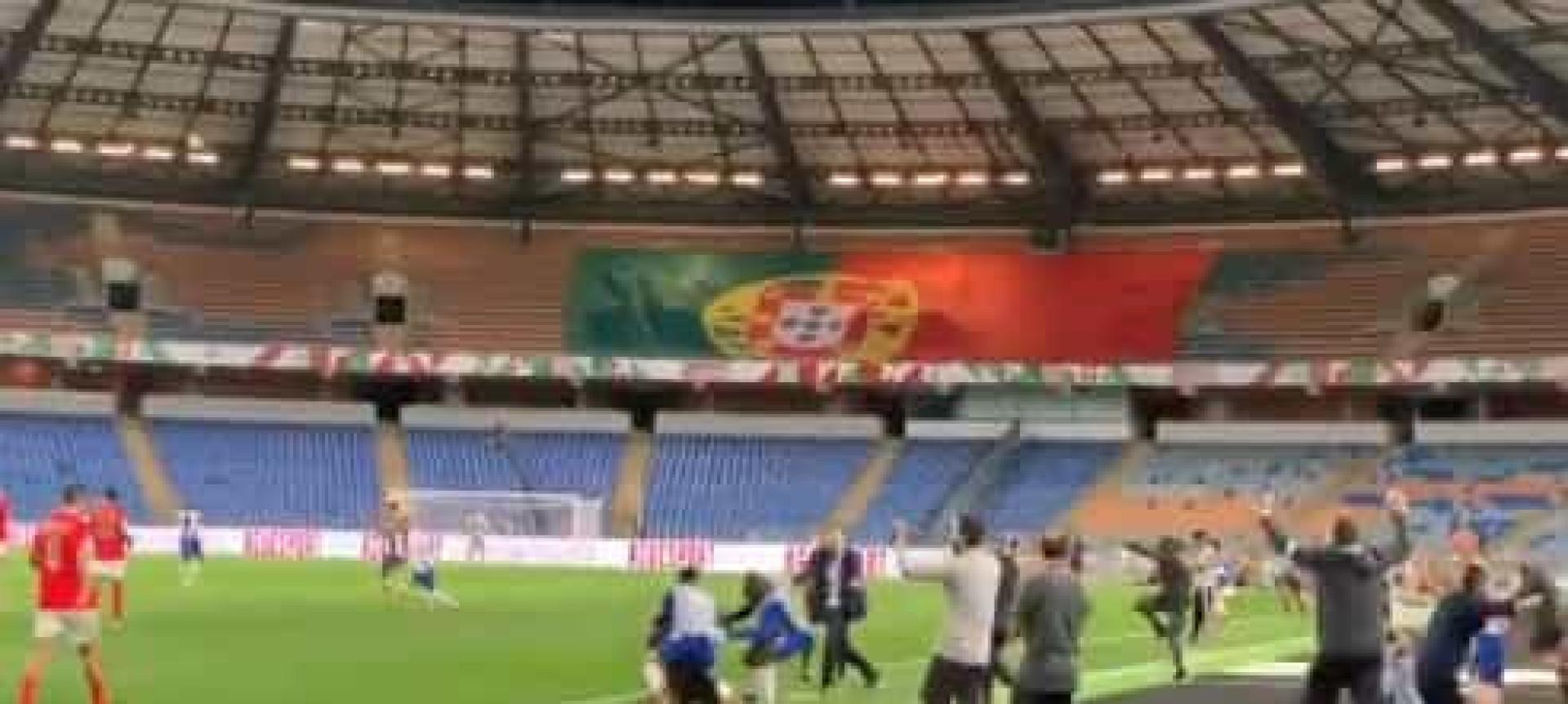 O exato momento em que o FC Porto conquista a Taça e alcança a dobradinha