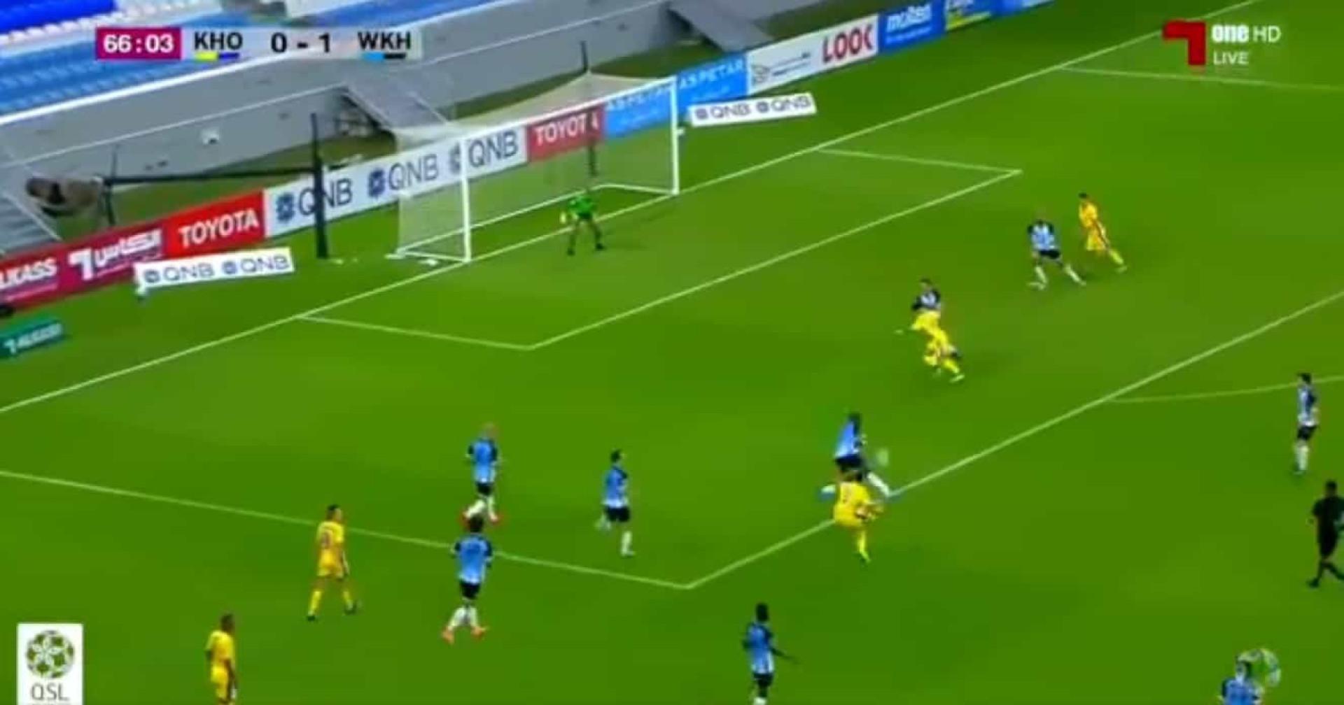 No Qatar marcou-se um dos mais belos golos da temporada