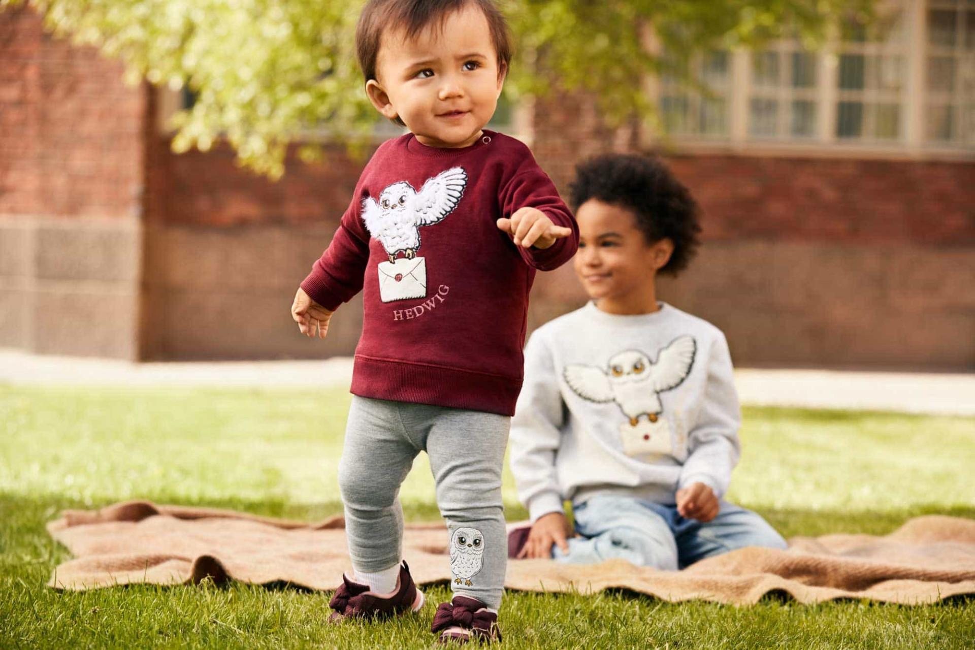 H&M apresenta Harry Potter x H&M: Coleção cápsula para criança